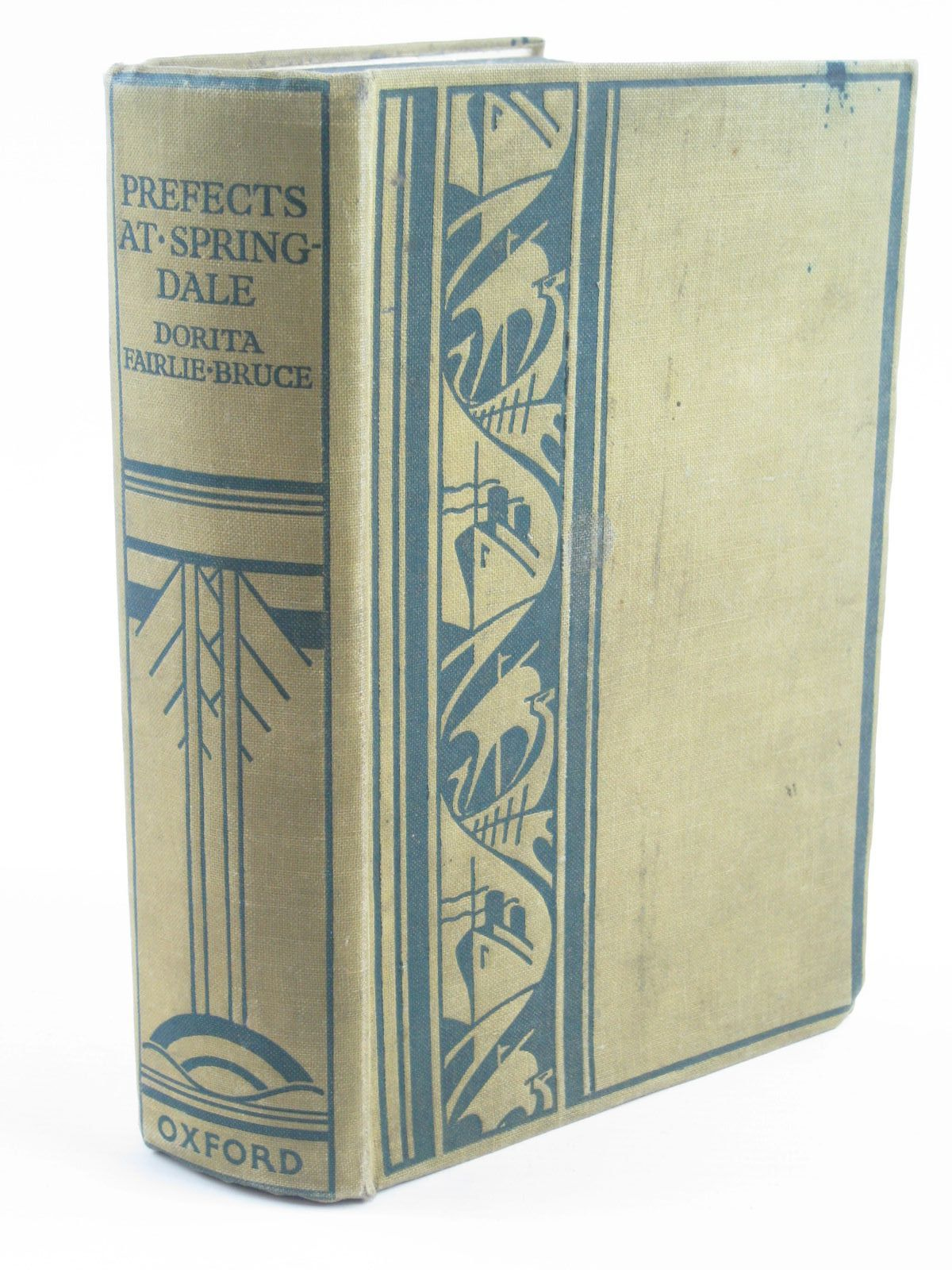 Photo of PREFECTS AT SPRINGDALE written by Bruce, Dorita Fairlie illustrated by Johnston, M.D. published by Oxford University Press, Humphrey Milford (STOCK CODE: 1310248)  for sale by Stella & Rose's Books