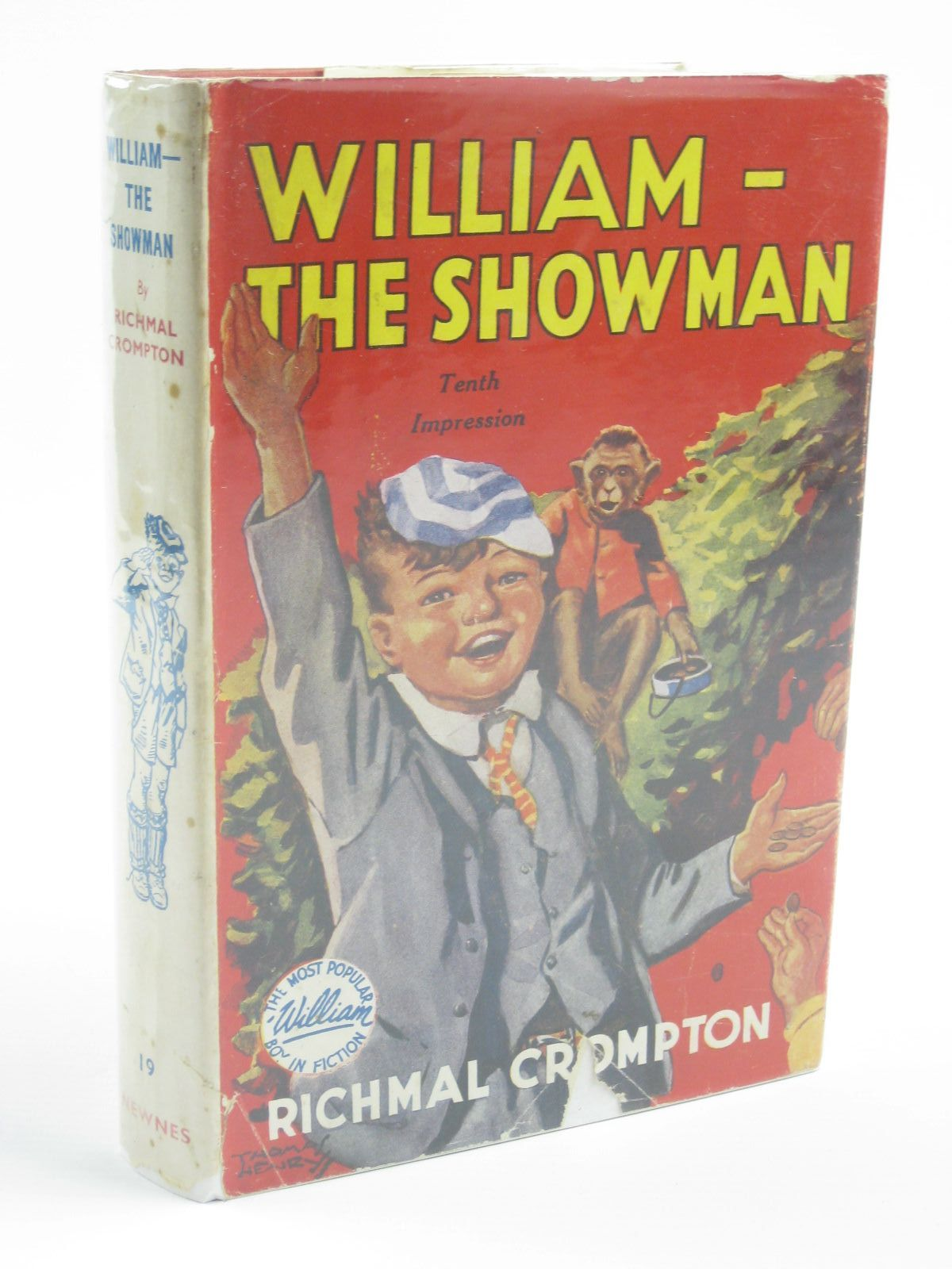 Photo of WILLIAM THE SHOWMAN written by Crompton, Richmal illustrated by Henry, Thomas published by George Newnes Limited (STOCK CODE: 1310319)  for sale by Stella & Rose's Books