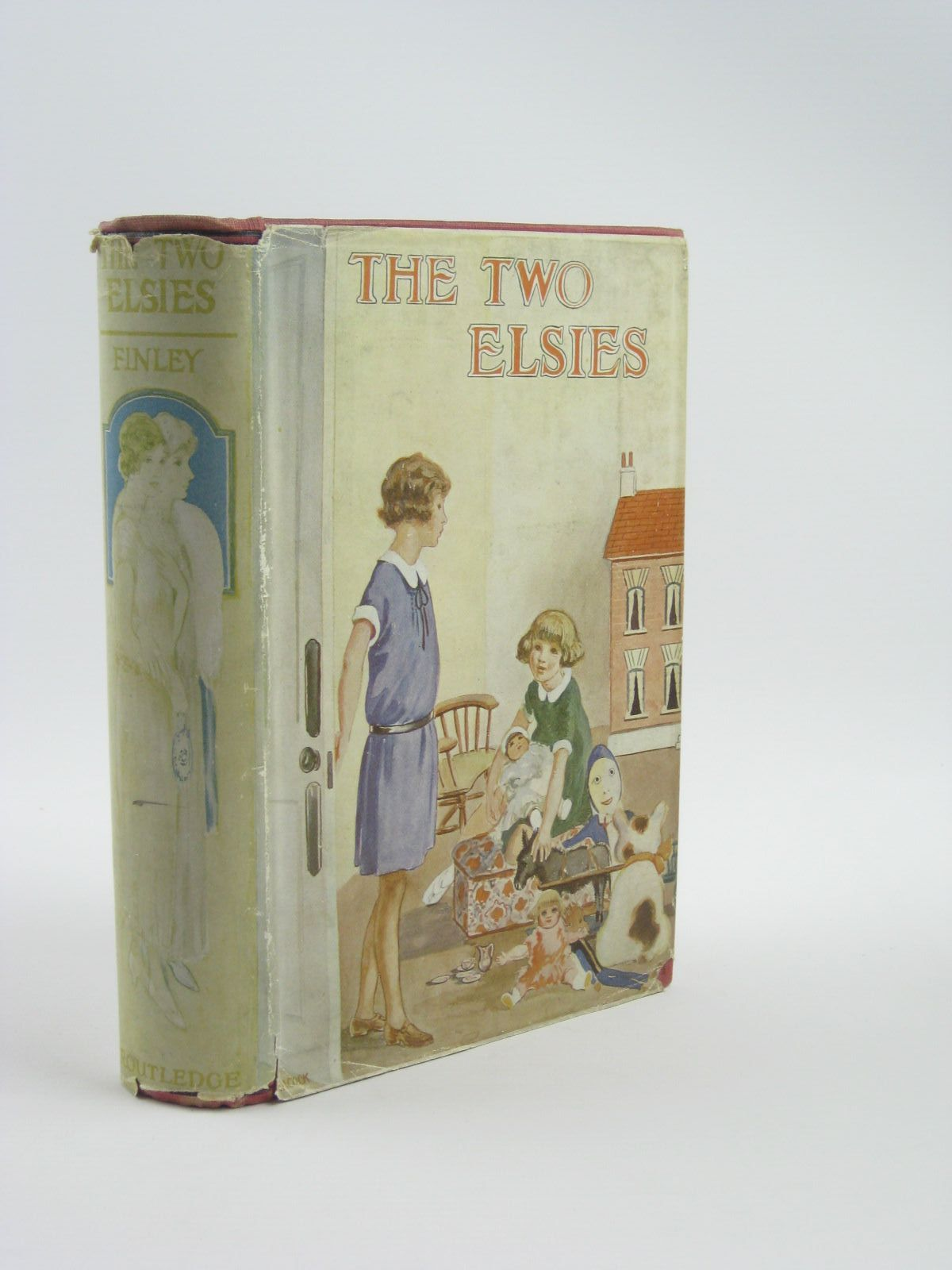 Photo of THE TWO ELSIES written by Finley, Martha published by George Routledge & Sons Ltd. (STOCK CODE: 1310405)  for sale by Stella & Rose's Books