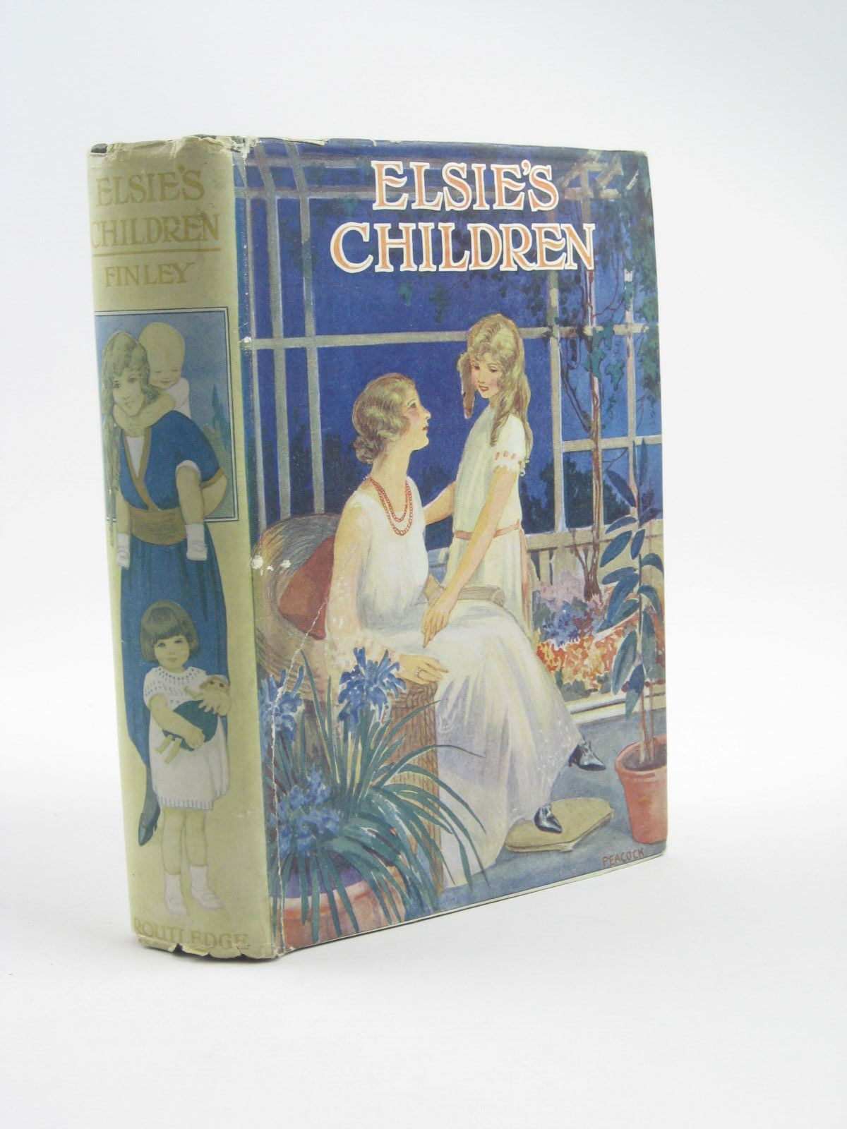 Photo of ELSIE'S CHILDREN written by Finley, Martha published by George Routledge & Sons Ltd. (STOCK CODE: 1310410)  for sale by Stella & Rose's Books