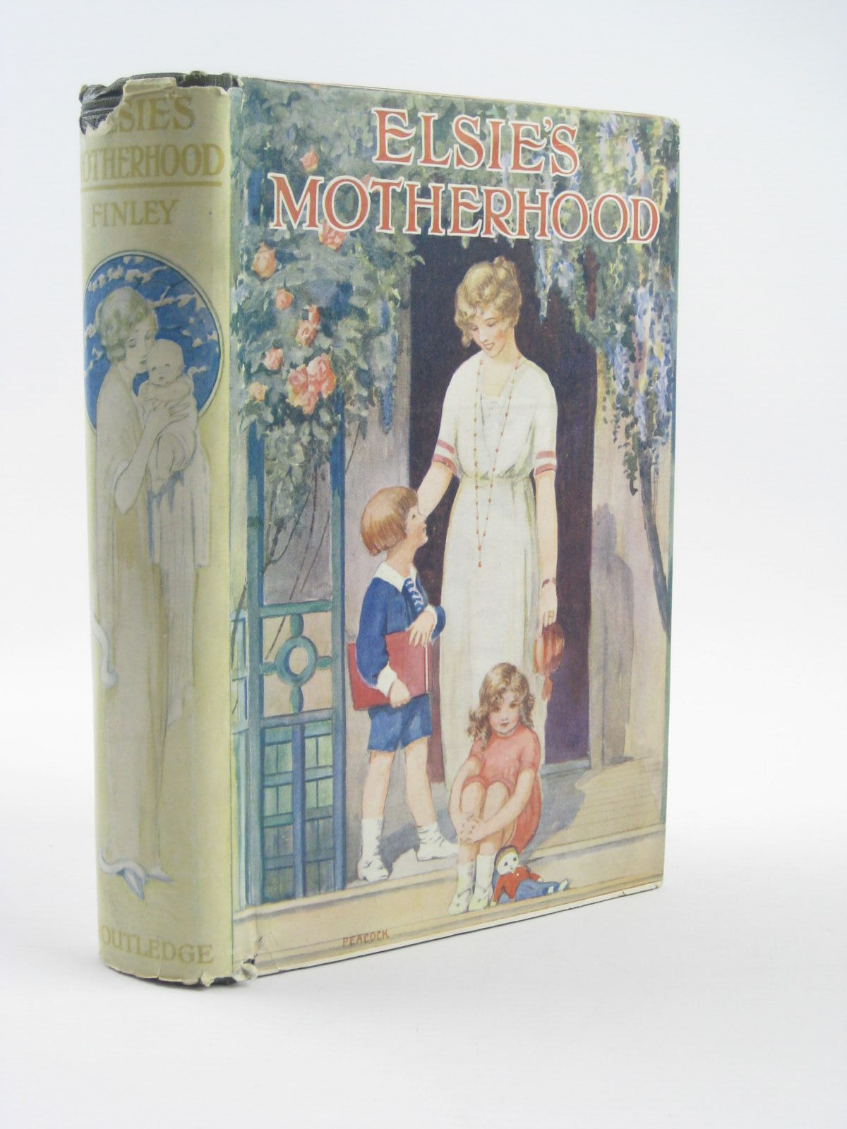 Photo of ELSIE'S MOTHERHOOD written by Finley, Martha published by George Routledge & Sons Ltd. (STOCK CODE: 1310416)  for sale by Stella & Rose's Books