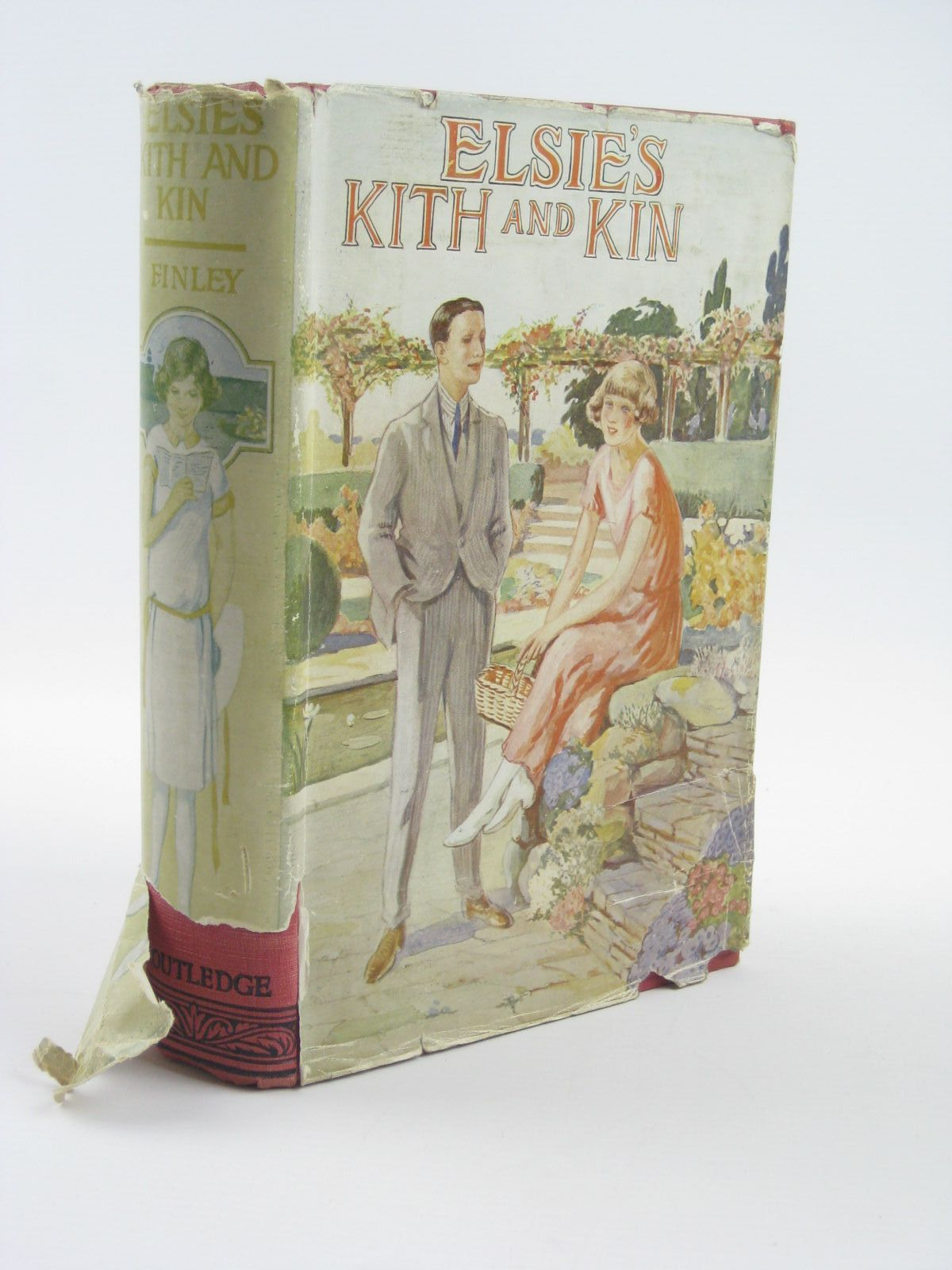 Photo of ELSIE'S KITH AND KIN written by Finley, Martha published by George Routledge & Sons Ltd. (STOCK CODE: 1310417)  for sale by Stella & Rose's Books