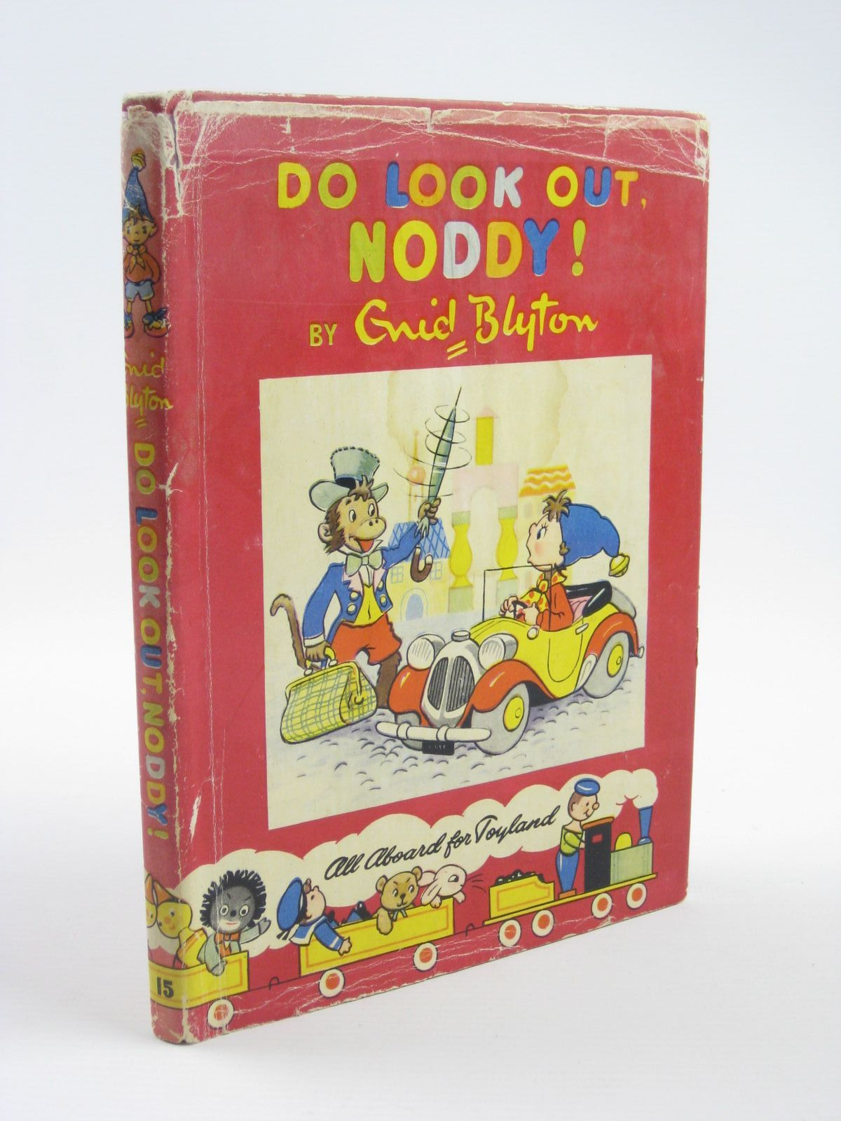 Photo of DO LOOK OUT, NODDY! written by Blyton, Enid illustrated by Lee, Robert Tyndall, Robert published by Sampson Low, Marston & Co. Ltd., Dennis Dobson Ltd. (STOCK CODE: 1310446)  for sale by Stella & Rose's Books