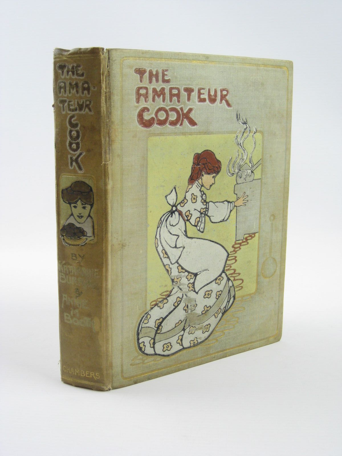 Photo of THE AMATEUR COOK written by Burrill, Katharine Booth, Annie M. illustrated by Attwell, Mabel Lucie published by W. & R. Chambers Limited (STOCK CODE: 1310466)  for sale by Stella & Rose's Books