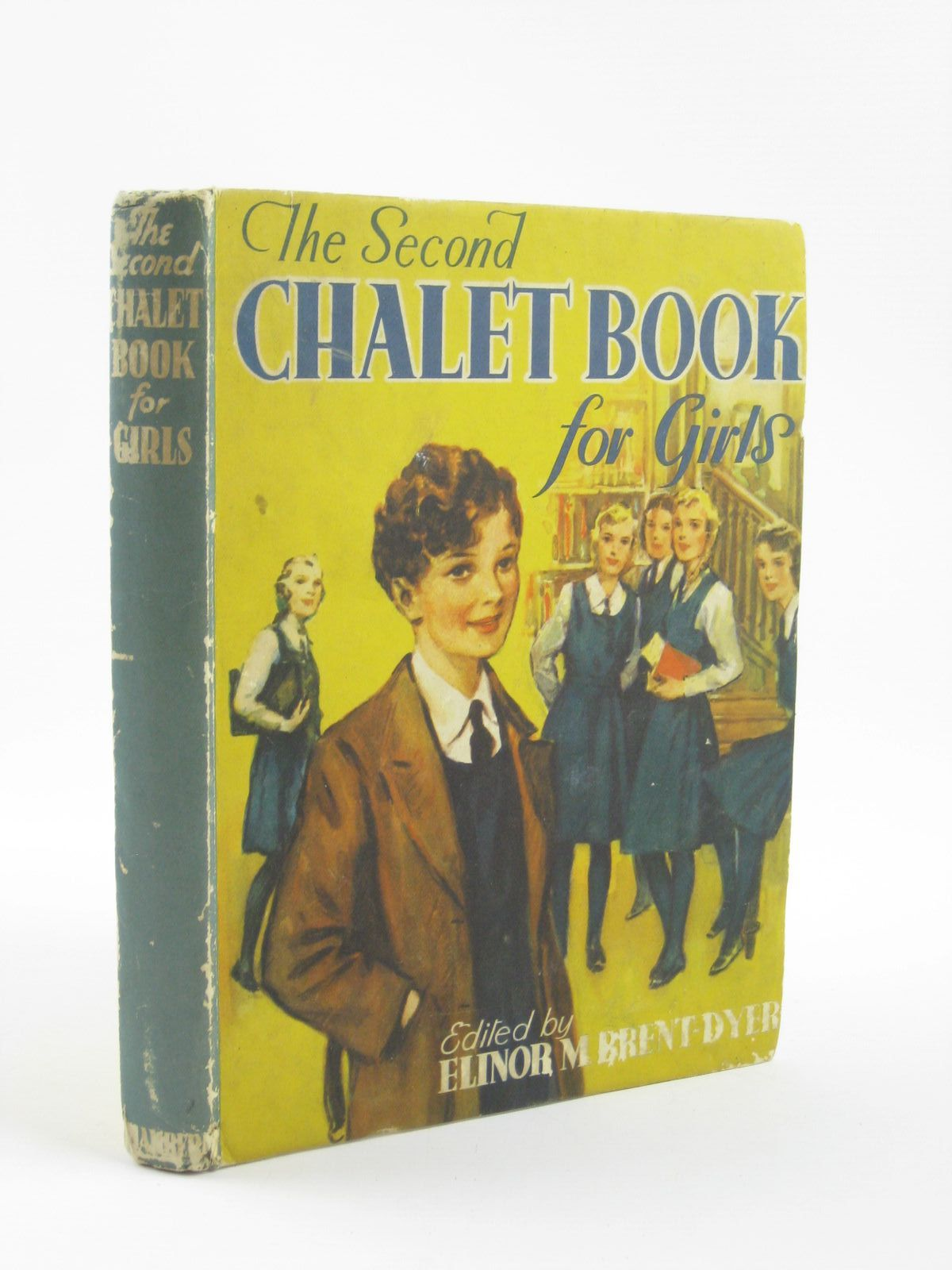 Photo of THE SECOND CHALET BOOK FOR GIRLS written by Brent-Dyer, Elinor M. published by W. & R. Chambers Limited (STOCK CODE: 1310571)  for sale by Stella & Rose's Books