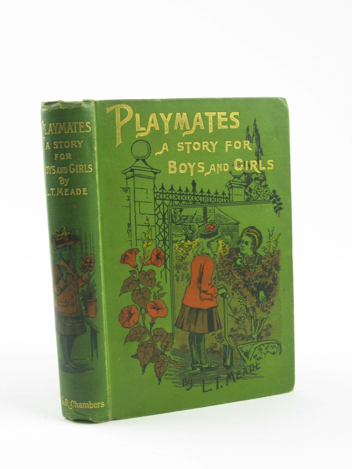 Photo of PLAYMATES written by Meade, L.T. illustrated by Nicolet, G. published by W. & R. Chambers Limited (STOCK CODE: 1310615)  for sale by Stella & Rose's Books
