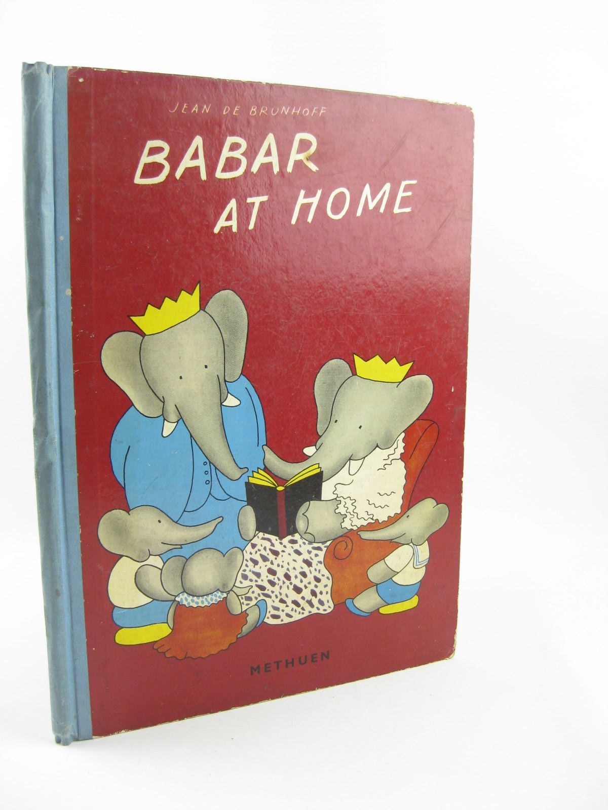 Photo of BABAR AT HOME written by De Brunhoff, Jean illustrated by De Brunhoff, Jean published by Methuen & Co. Ltd. (STOCK CODE: 1310749)  for sale by Stella & Rose's Books
