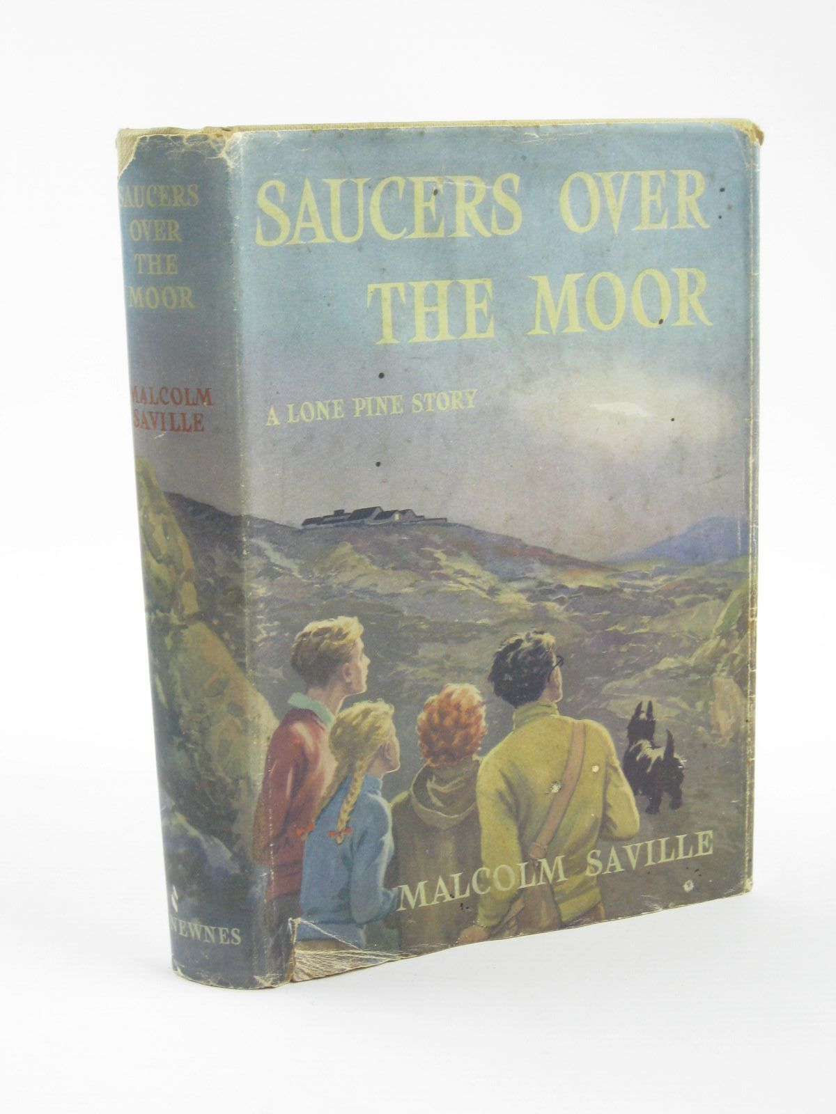 Photo of SAUCERS OVER THE MOOR written by Saville, Malcolm illustrated by Prance, Bertram published by George Newnes Ltd. (STOCK CODE: 1310765)  for sale by Stella & Rose's Books