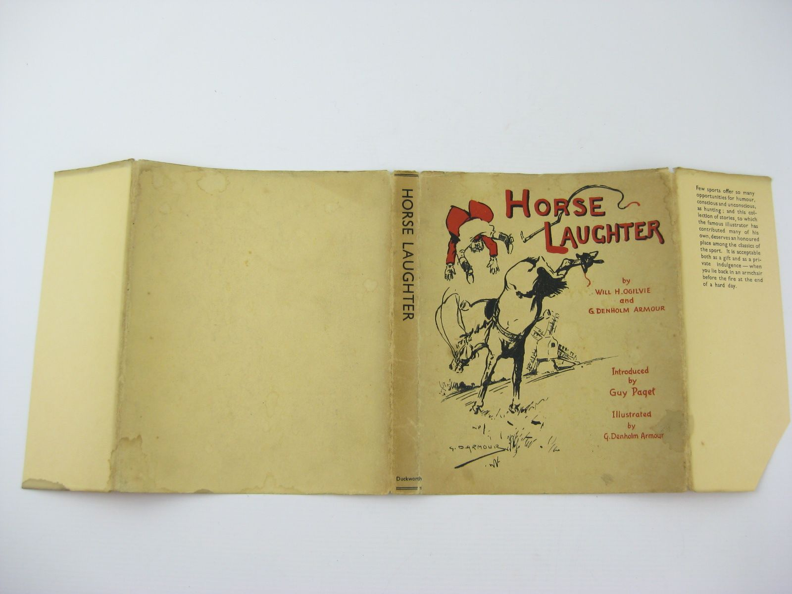 Photo of HORSE LAUGHTER written by Ogilvie, Will H.