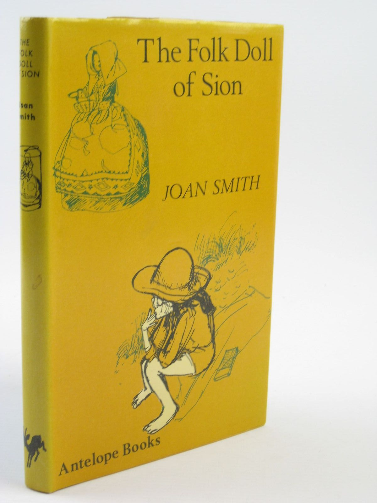 Photo of THE FOLK DOLL OF SION written by Smith, Joan illustrated by Seward, Prudence published by Hamish Hamilton (STOCK CODE: 1310961)  for sale by Stella & Rose's Books