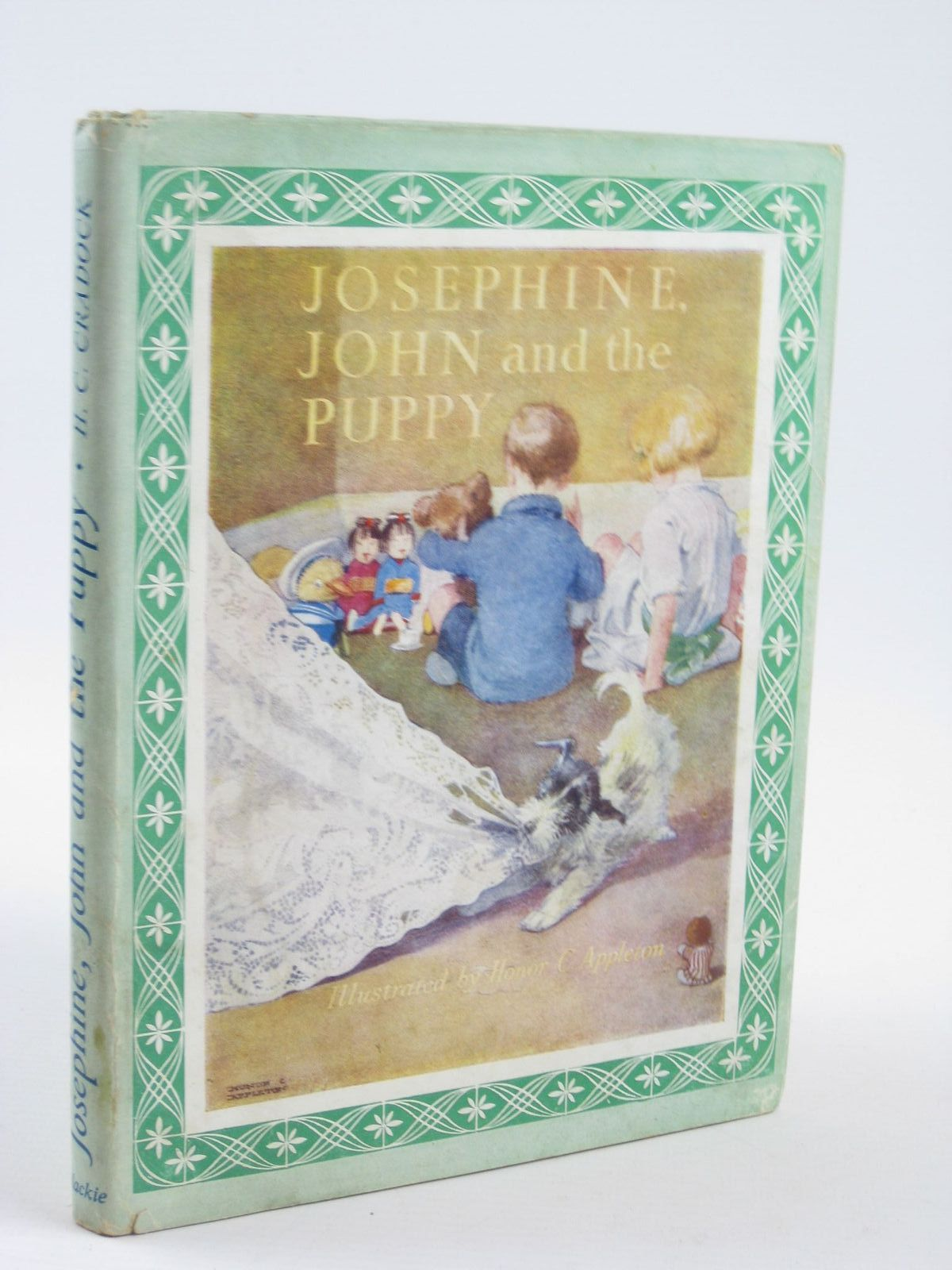Photo of JOSEPHINE, JOHN AND THE PUPPY written by Cradock, Mrs. H.C. illustrated by Appleton, Honor C. published by Blackie & Son Ltd. (STOCK CODE: 1311079)  for sale by Stella & Rose's Books