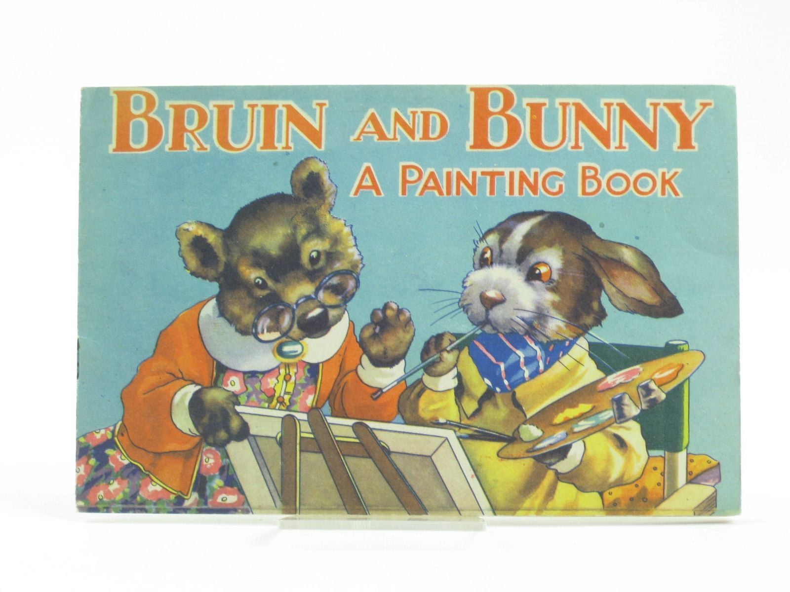 Photo of BRUIN AND BUNNY - A PAINTING BOOK FOR BOYS AND GIRLS published by B.B. Ltd. (STOCK CODE: 1311147)  for sale by Stella & Rose's Books