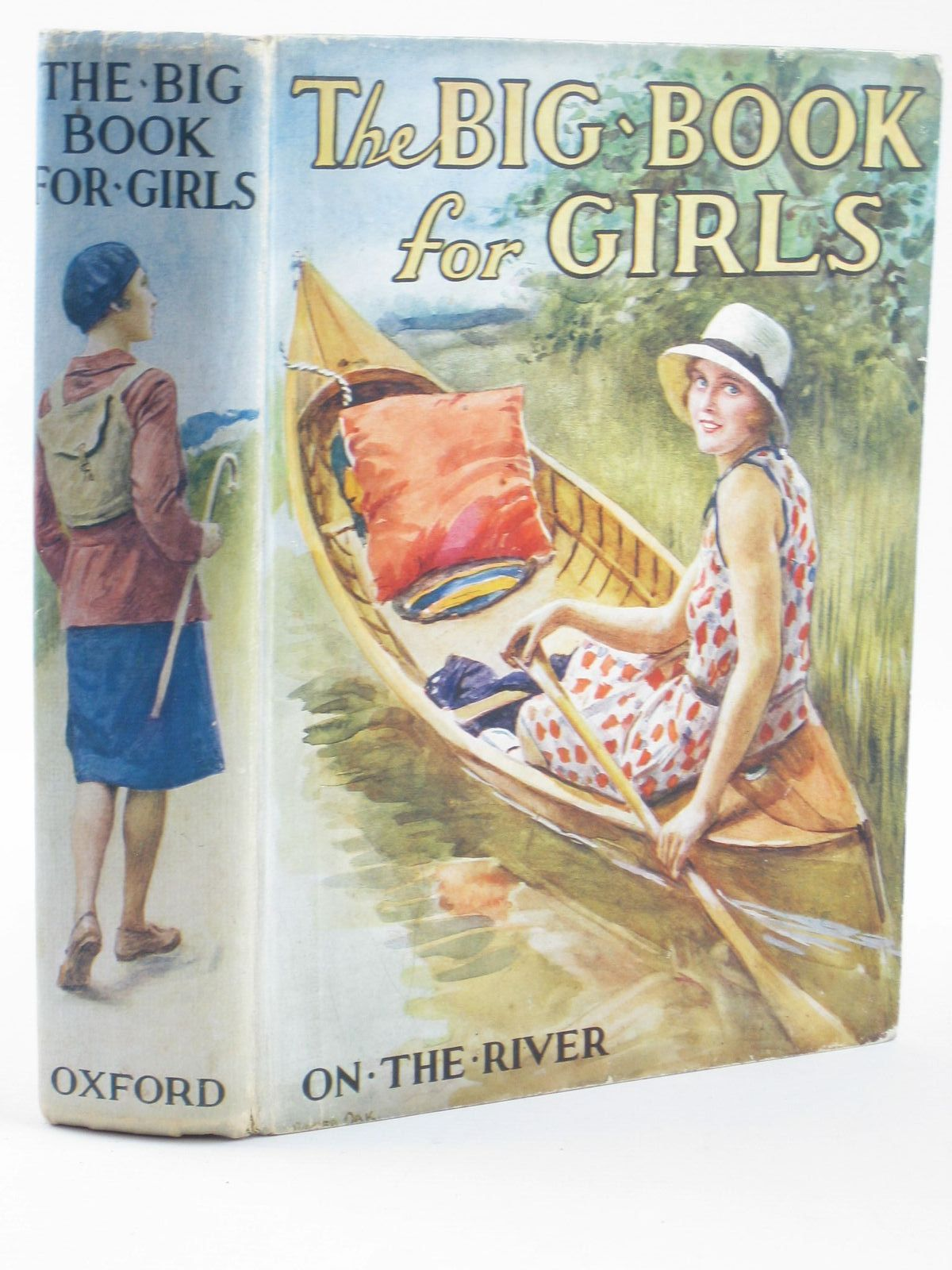 Photo of THE BIG BOOK FOR GIRLS written by Strang, Mrs. Herbert Rutley, C. Bernard Cowper, E.E. Chaundler, Christine et al, illustrated by Reeve, Mary S. Anderson, Anne et al., published by Humphrey Milford, Oxford University Press (STOCK CODE: 1311175)  for sale by Stella & Rose's Books