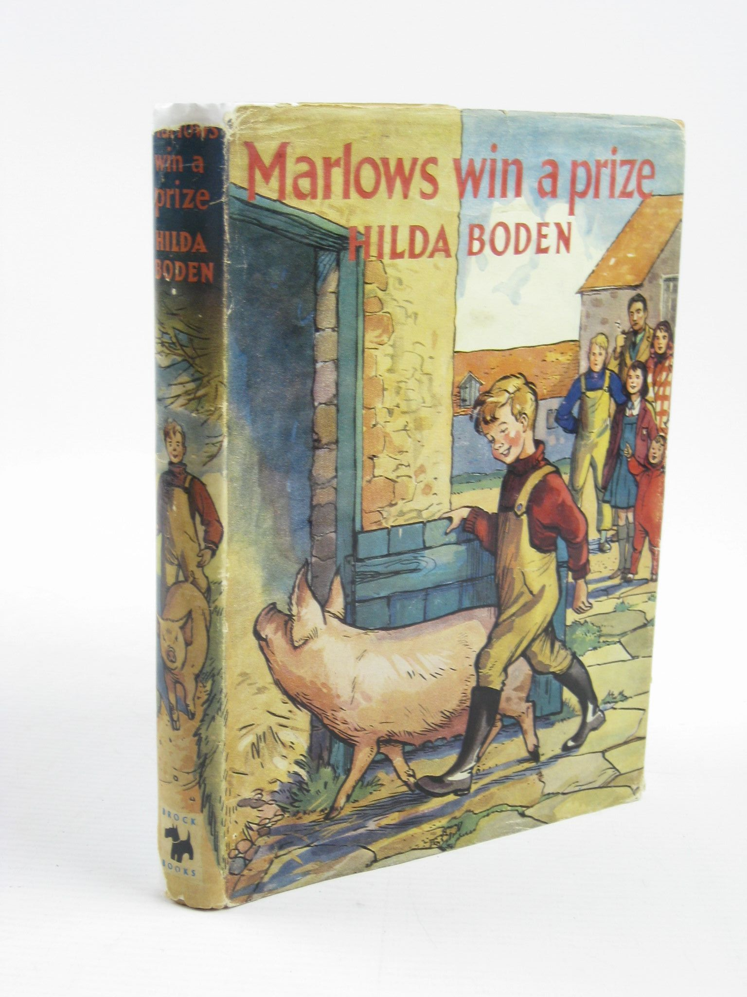 Photo of MARLOWS WIN A PRIZE written by Boden, Hilda illustrated by Buchanan, Lilian published by Brockhampton Press Ltd. (STOCK CODE: 1311312)  for sale by Stella & Rose's Books