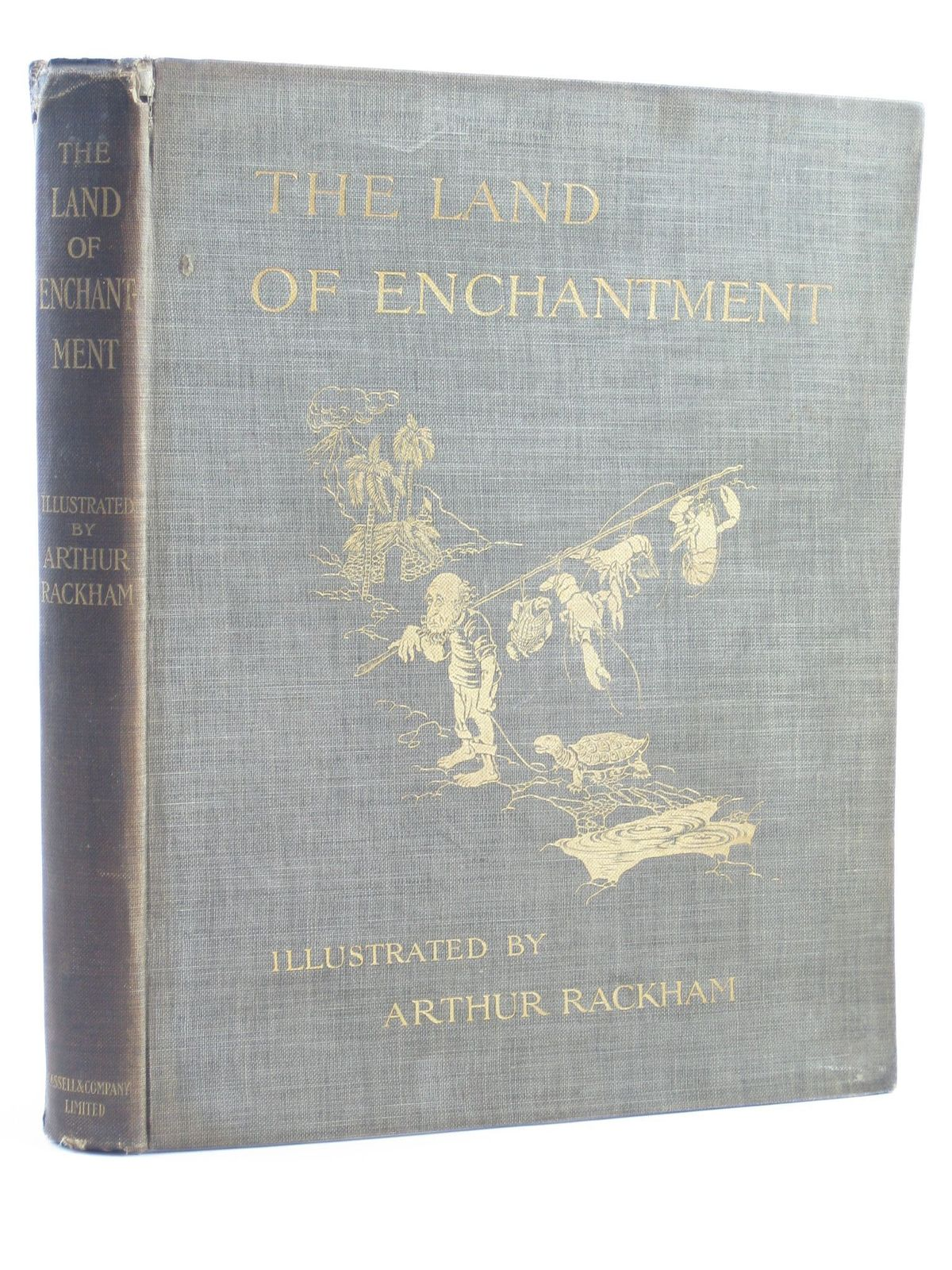 Photo of THE LAND OF ENCHANTMENT written by Bonser, A.E. Woolf, Sidney Bucheim, E.S. illustrated by Rackham, Arthur published by Cassell & Co. Ltd. (STOCK CODE: 1311334)  for sale by Stella & Rose's Books