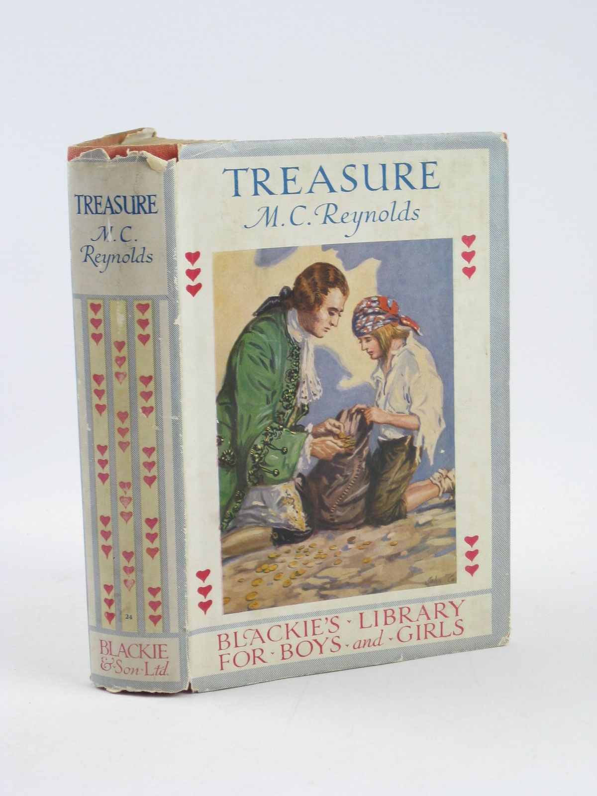 Photo of TREASURE written by Reynolds, M.C. published by Blackie & Son Ltd. (STOCK CODE: 1311353)  for sale by Stella & Rose's Books