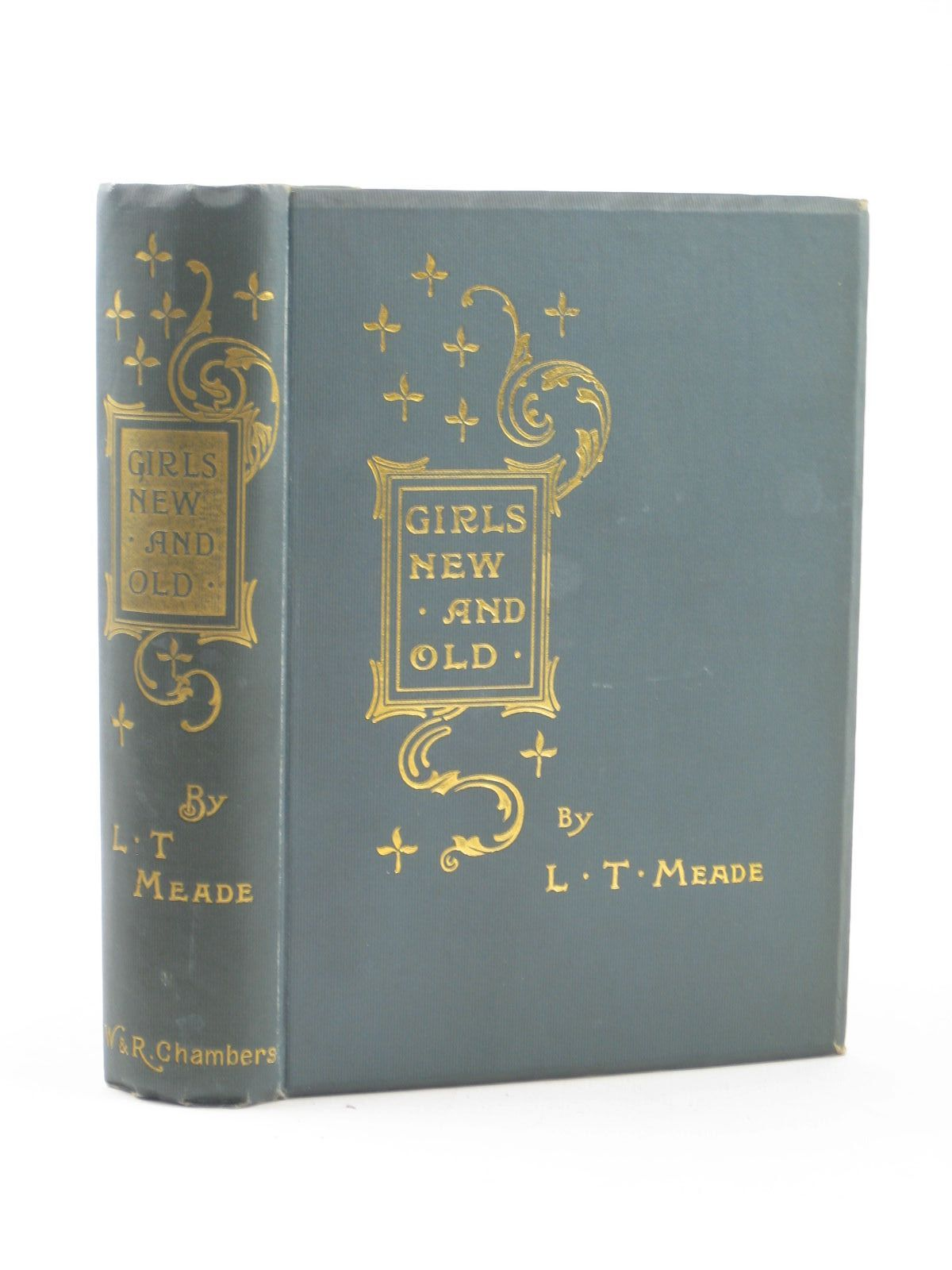 Photo of GIRLS NEW AND OLD written by Meade, L.T. illustrated by Williamson, J. published by W. & R. Chambers Limited (STOCK CODE: 1311700)  for sale by Stella & Rose's Books