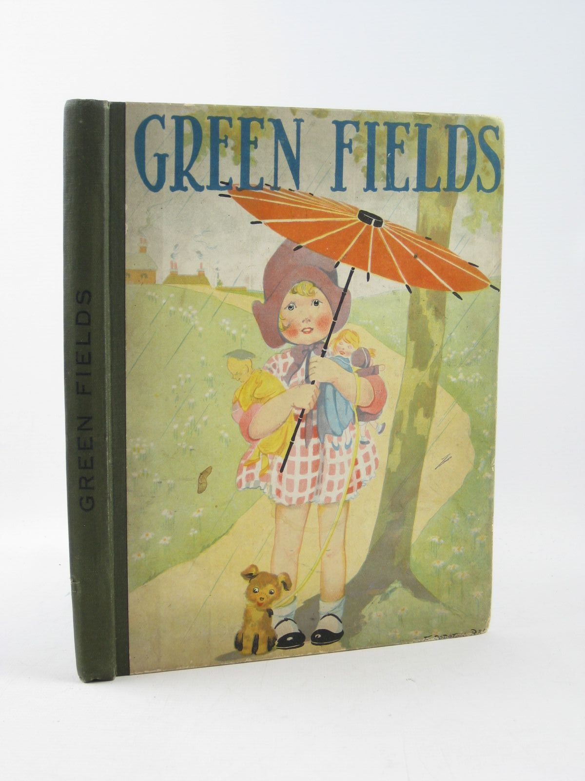 Photo of GREEN FIELDS written by Skae, Hilda T. Rutley, Cecily M. Wilson, Theodora Wilson et al, illustrated by Cobb, Ruth Jackson, A.E. Hassall, John et al., published by Collins Clear-Type Press (STOCK CODE: 1311788)  for sale by Stella & Rose's Books