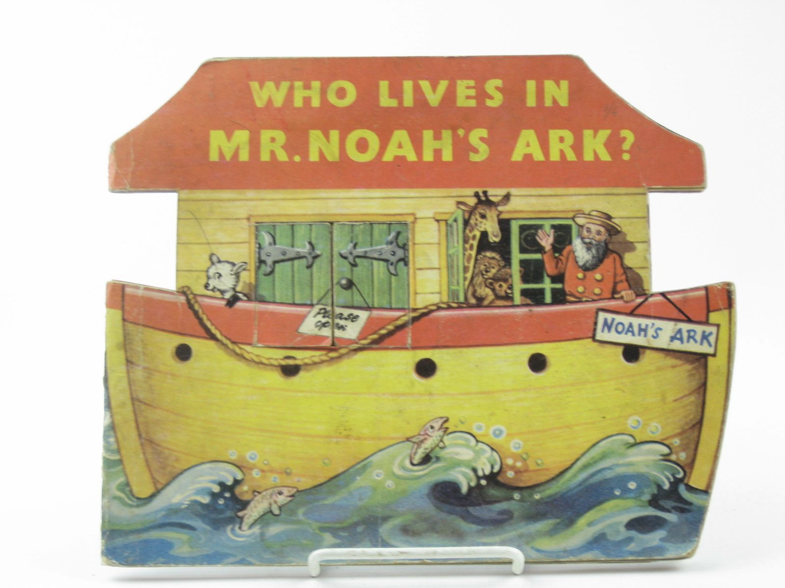 Photo of WHO LIVES IN MR. NOAH'S ARK?- Stock Number: 1311795