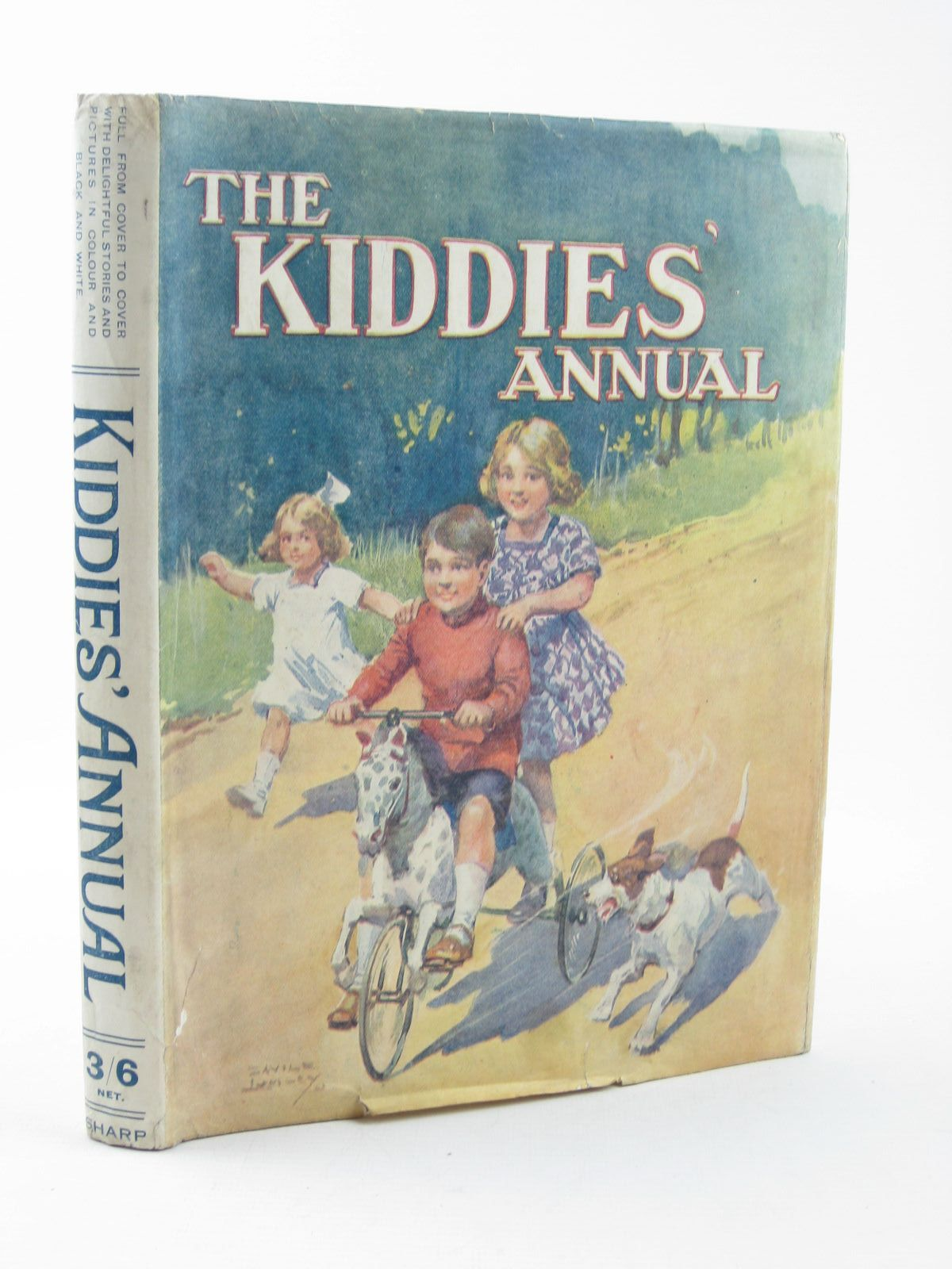 Photo of THE KIDDIES' ANNUAL written by Fielding, Nellie Talbot, Ethel Lea, John et al, illustrated by Wain, Louis Lumley, Savile Neilson, Harry et al., published by The Epworth Press, J. Alfred Sharp (STOCK CODE: 1311837)  for sale by Stella & Rose's Books