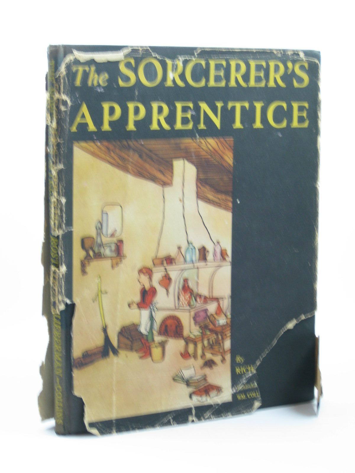 Photo of THE SORCERER'S APPRENTICE written by Rostron, Richard illustrated by Lieberman, Frank published by Collins (STOCK CODE: 1312018)  for sale by Stella & Rose's Books