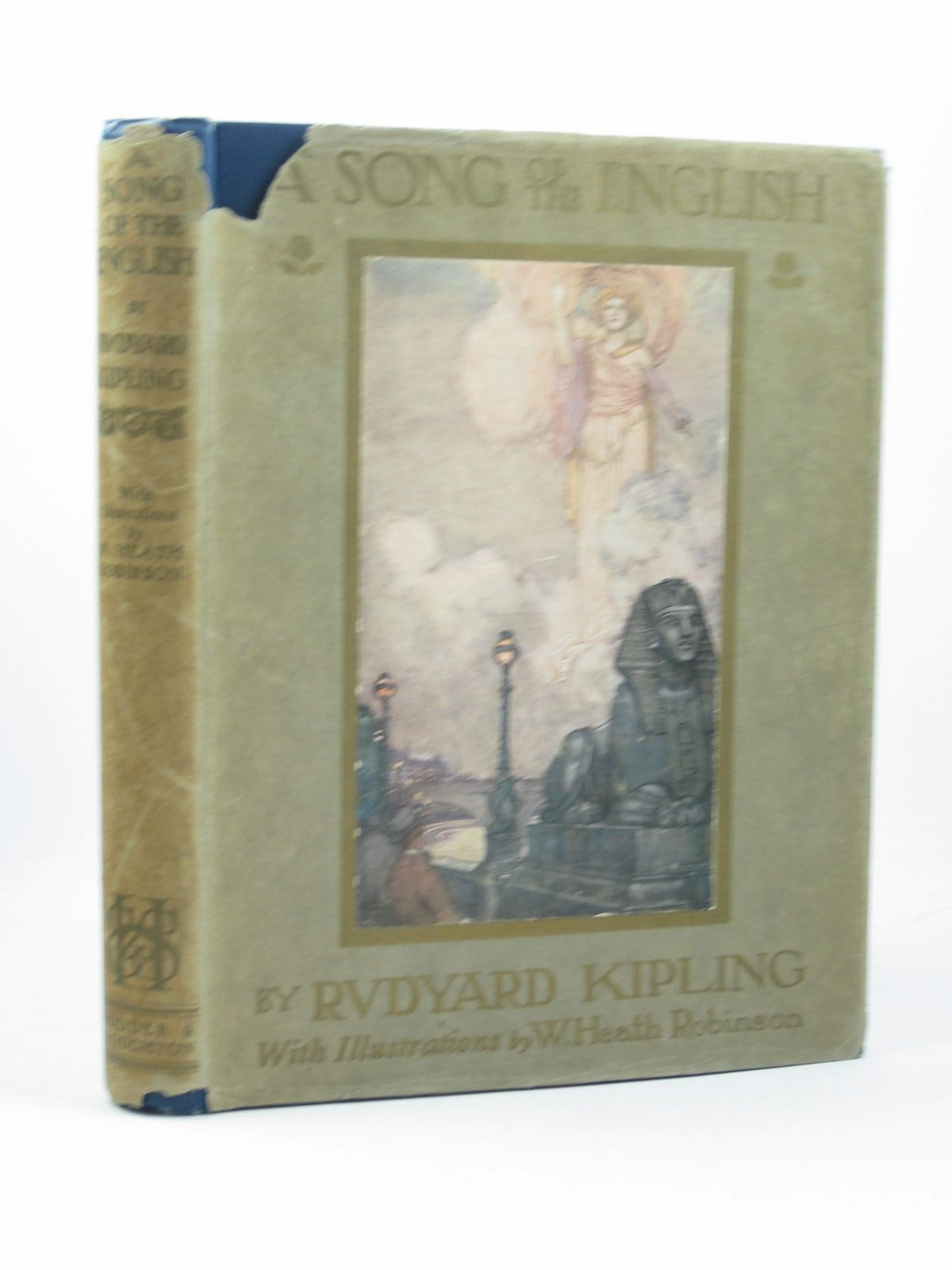 Photo of A SONG OF THE ENGLISH written by Kipling, Rudyard illustrated by Robinson, W. Heath published by Hodder & Stoughton (STOCK CODE: 1312289)  for sale by Stella & Rose's Books