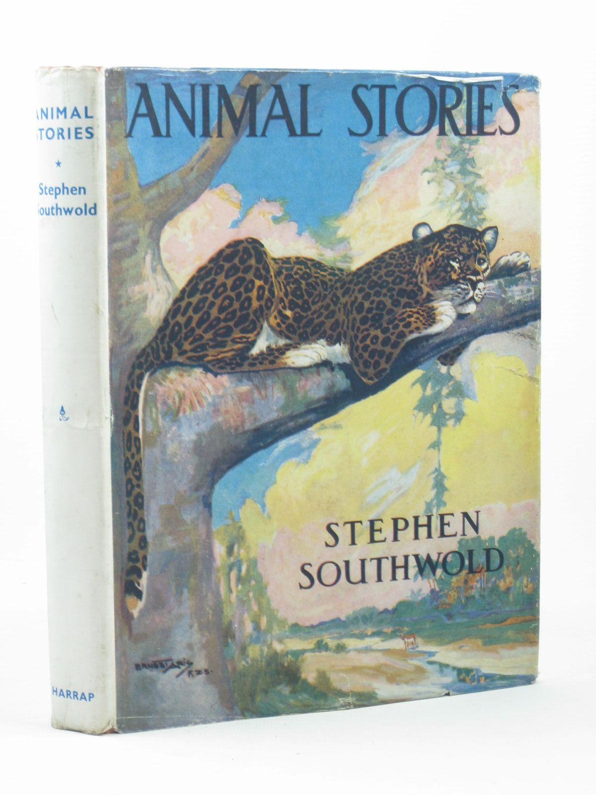 Photo of ANIMAL STORIES written by Southwold, Stephen illustrated by Appleton, Honor C. Aris, Ernest A. published by George G. Harrap & Company Ltd. (STOCK CODE: 1312417)  for sale by Stella & Rose's Books