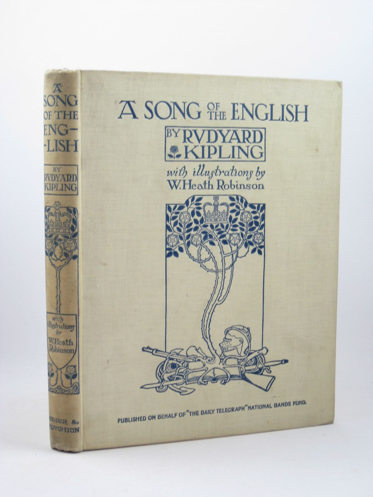 Photo of A SONG OF THE ENGLISH written by Kipling, Rudyard illustrated by Robinson, W. Heath published by Hodder & Stoughton (STOCK CODE: 1312474)  for sale by Stella & Rose's Books