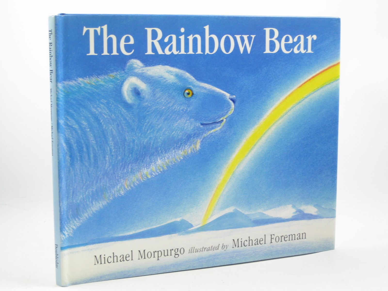 Photo of THE RAINBOW BEAR written by Morpurgo, Michael illustrated by Foreman, Michael published by Doubleday (STOCK CODE: 1312500)  for sale by Stella & Rose's Books