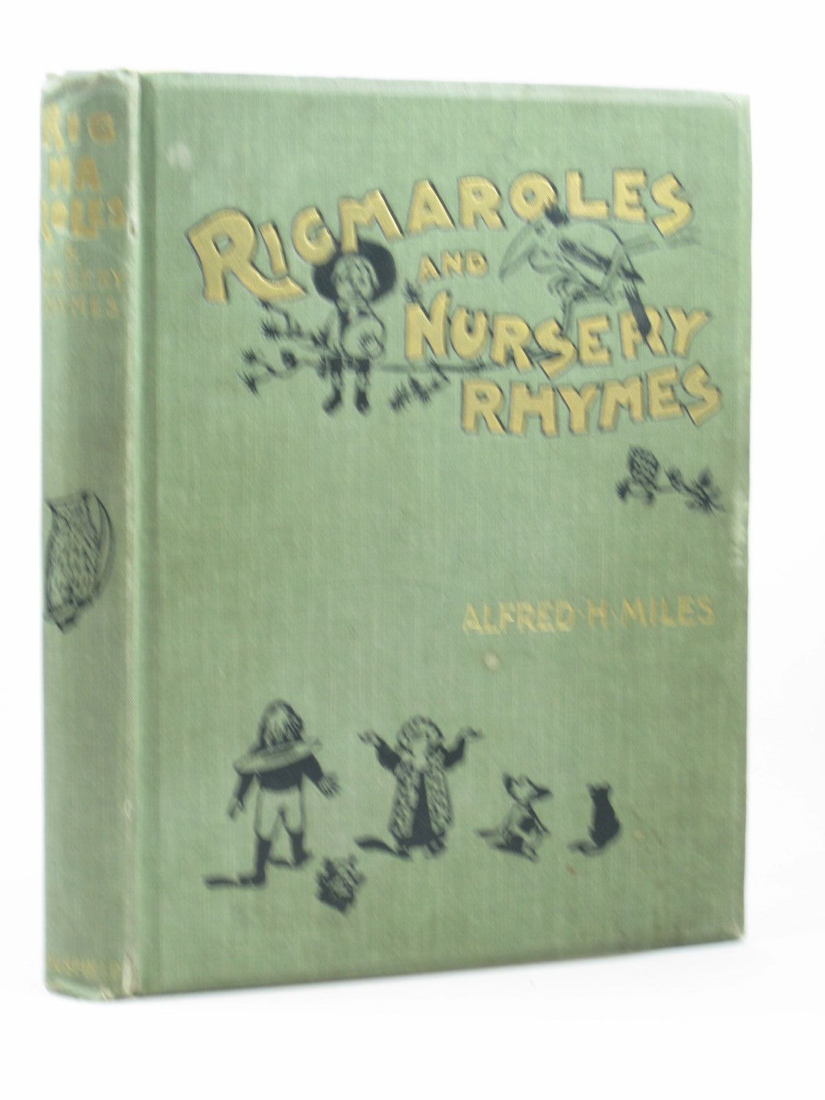 Photo of RIGMAROLES AND NURSERY RHYMES written by Miles, Alfred H. illustrated by Wain, Louis<br />Ronner, Henriette<br />Copping, Harold<br />et al.,  published by S.H. Bousfield &amp; Co. Ld. (STOCK CODE: 1312524)  for sale by Stella & Rose's Books