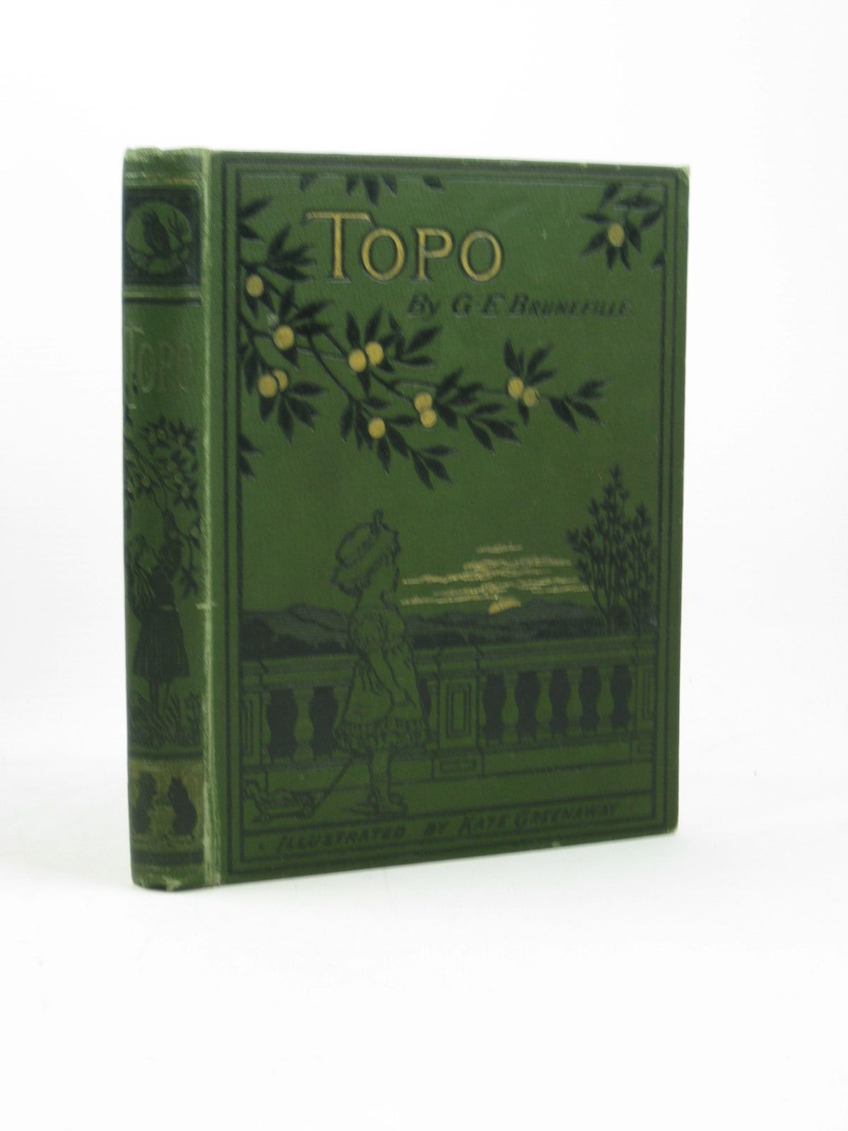 Photo of TOPO written by Brunefille, G.E. illustrated by Greenaway, Kate published by Marcus Ward & Co. (STOCK CODE: 1312548)  for sale by Stella & Rose's Books