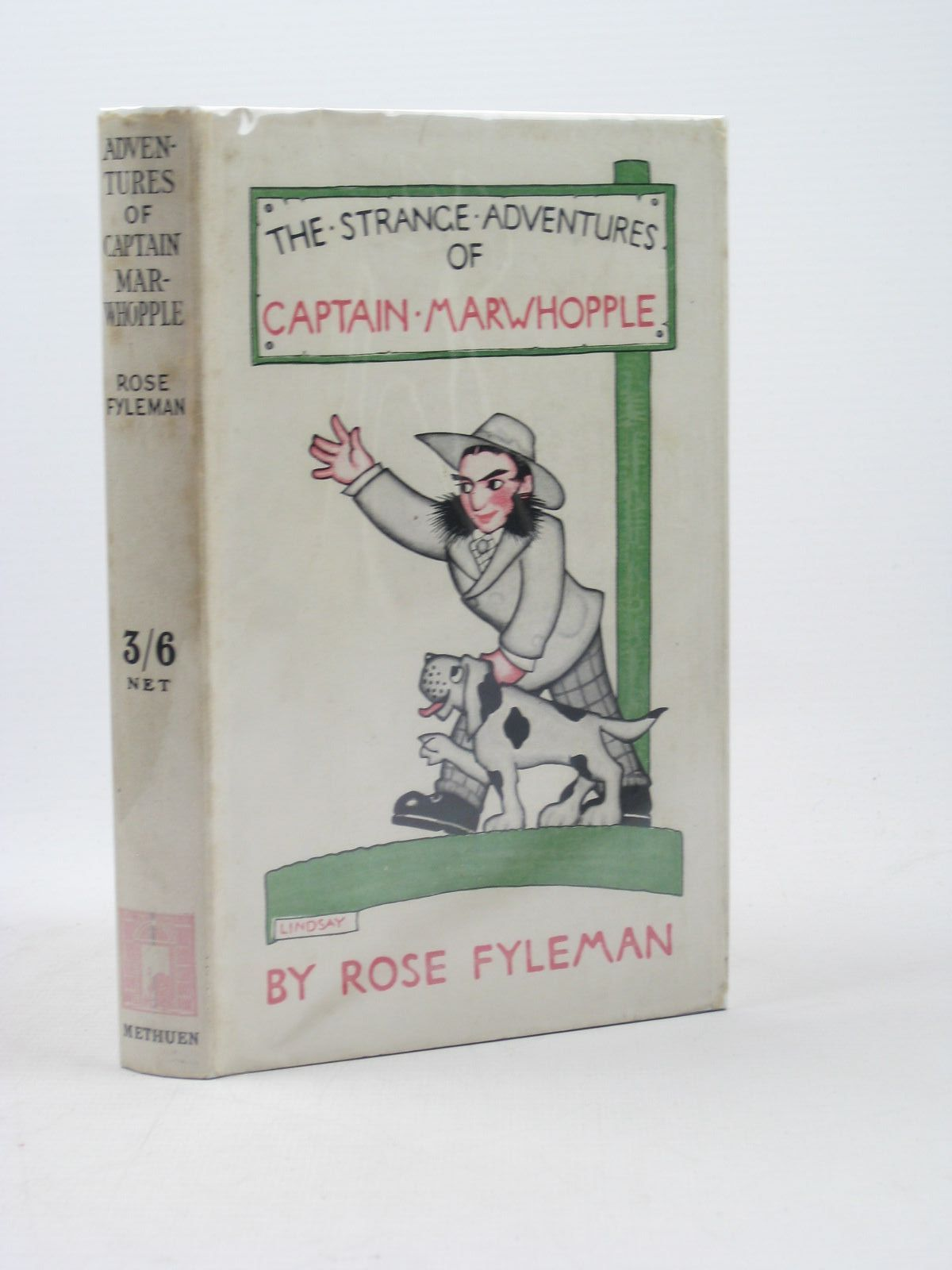 Photo of THE STRANGE ADVENTURES OF CAPTAIN MARWHOPPLE written by Fyleman, Rose illustrated by Lindsay, Gertrude published by Methuen & Co. Ltd. (STOCK CODE: 1312552)  for sale by Stella & Rose's Books