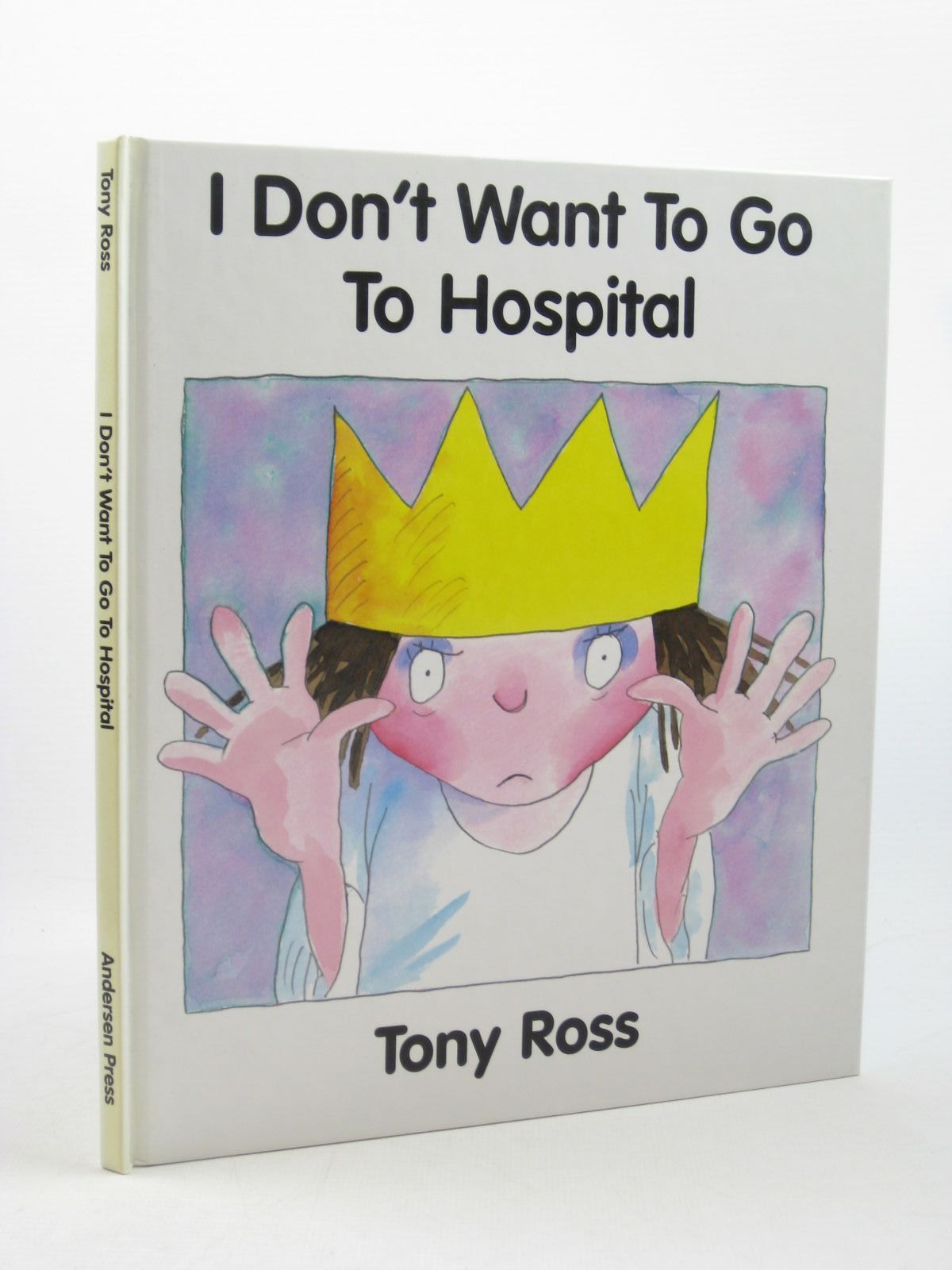 Photo of I DON'T WANT TO GO TO HOSPITAL- Stock Number: 1312706