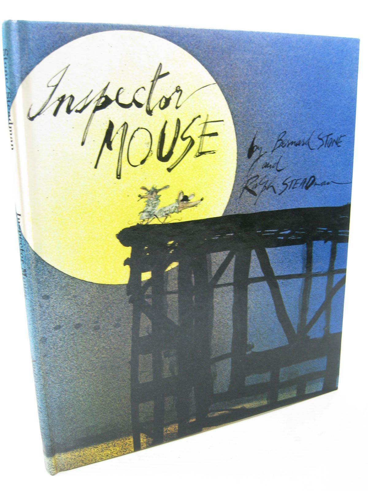 Photo of INSPECTOR MOUSE written by Stone, Bernard illustrated by Steadman, Ralph published by Andersen Press (STOCK CODE: 1312726)  for sale by Stella & Rose's Books