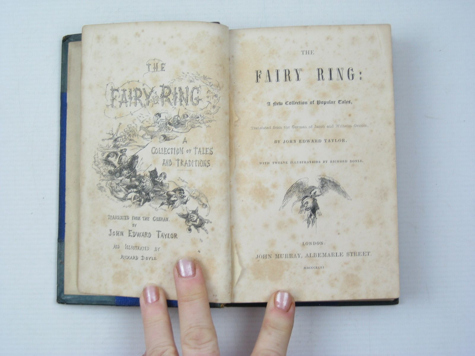 Photo of THE FAIRY RING written by Grimm, Brothers Taylor, John Edward illustrated by Doyle, Richard published by John Murray (STOCK CODE: 1312924)  for sale by Stella & Rose's Books