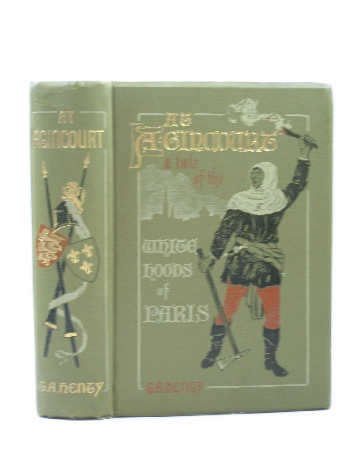 Photo of AT AGINCOURT written by Henty, G.A. illustrated by Paget, Wal published by Blackie & Son Ltd. (STOCK CODE: 1312973)  for sale by Stella & Rose's Books