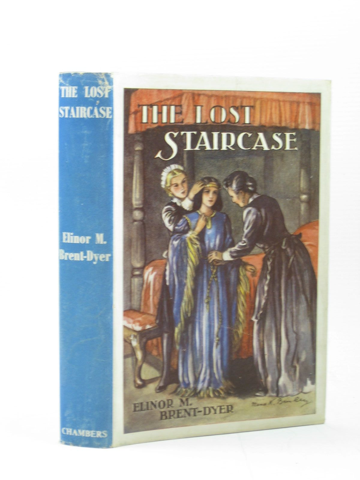 Photo of THE LOST STAIRCASE written by Brent-Dyer, Elinor M. published by W. & R. Chambers Limited (STOCK CODE: 1313008)  for sale by Stella & Rose's Books