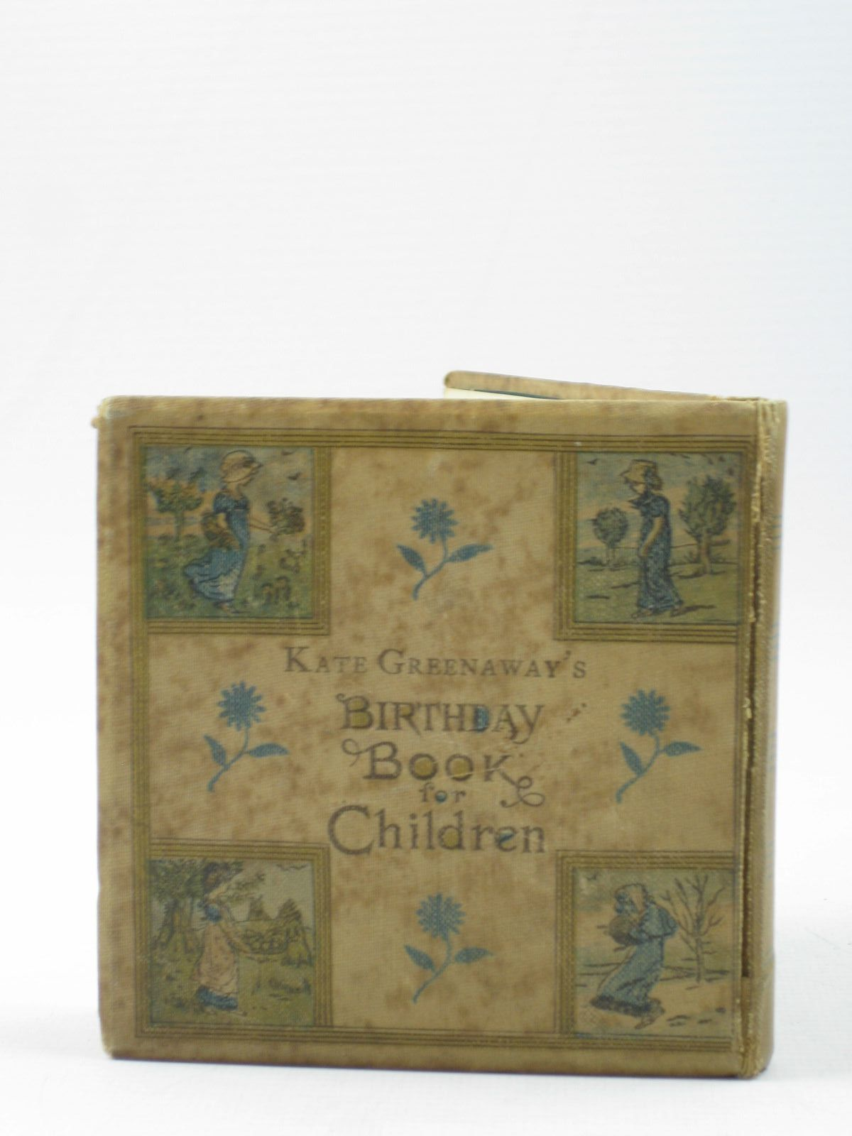 Photo of KATE GREENAWAY'S BIRTHDAY BOOK FOR CHILDREN written by Barker, Mrs. Sale illustrated by Greenaway, Kate published by George Routledge & Sons (STOCK CODE: 1313162)  for sale by Stella & Rose's Books