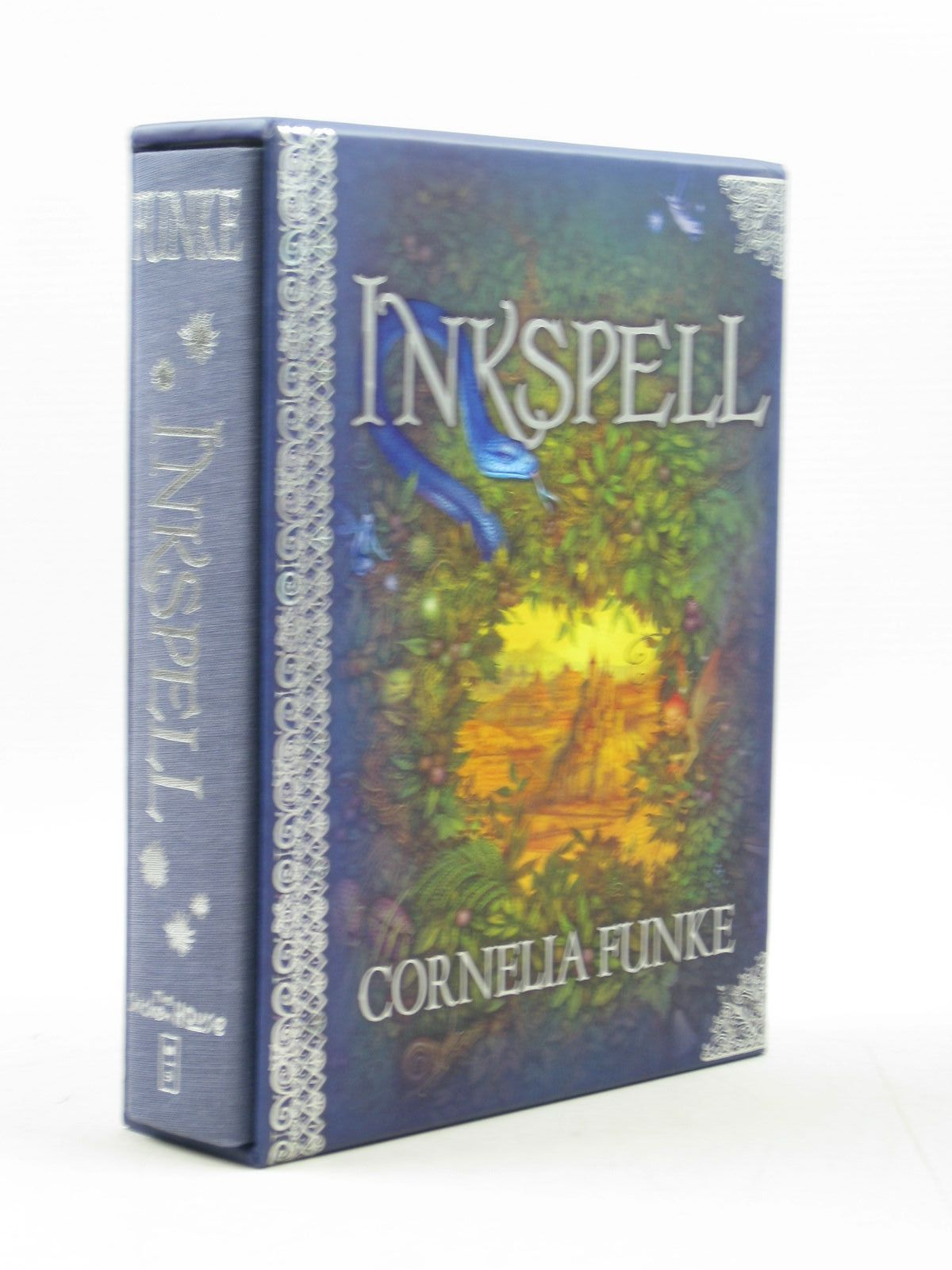 Photo of INKSPELL written by Funke, Cornelia Bell, Anthea illustrated by Lawson, Carol Funke, Cornelia published by The Chicken House, Scholastic Inc. (STOCK CODE: 1313455)  for sale by Stella & Rose's Books