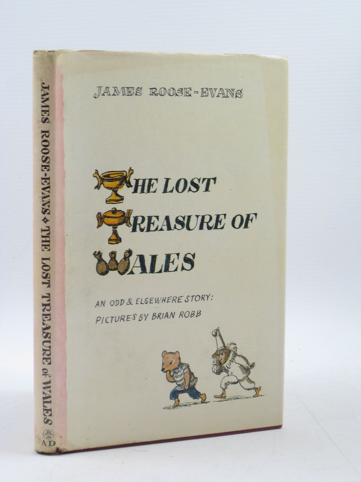 Photo of THE LOST TREASURE OF WALES written by Roose-Evans, James illustrated by Robb, Brian published by Andre Deutsch (STOCK CODE: 1313517)  for sale by Stella & Rose's Books