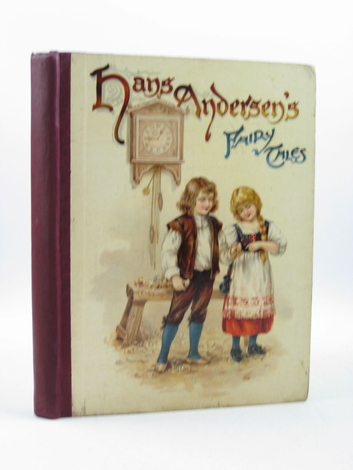 Photo of HANS ANDERSEN'S FAIRY TALES written by Andersen, Hans Christian illustrated by Andrews, E.J.<br />Jacobs, S. published by Raphael Tuck &amp; Sons Ltd. (STOCK CODE: 1313590)  for sale by Stella & Rose's Books