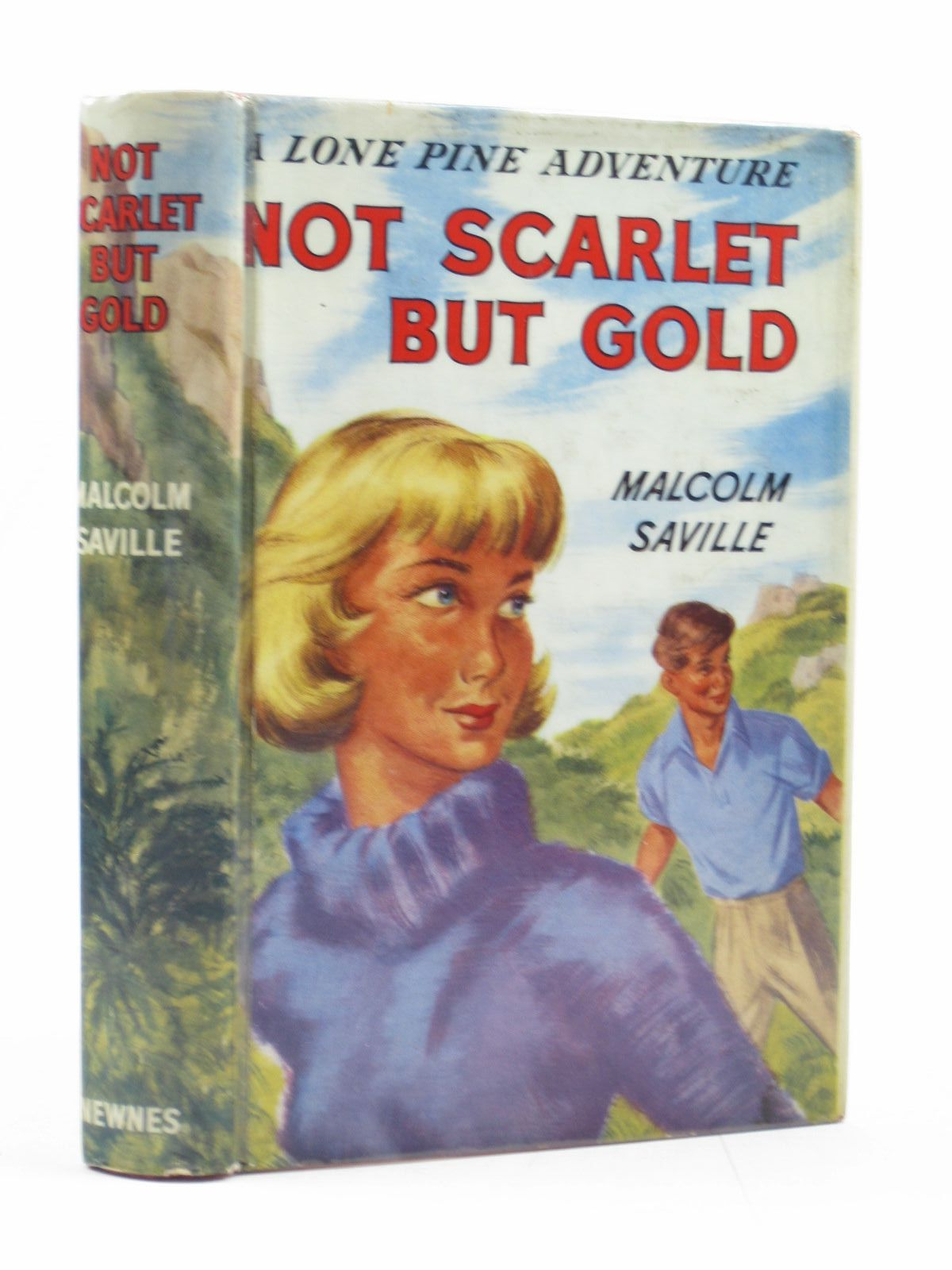 Photo of NOT SCARLET BUT GOLD written by Saville, Malcolm illustrated by Whitear, A.R. published by Newnes (STOCK CODE: 1313817)  for sale by Stella & Rose's Books