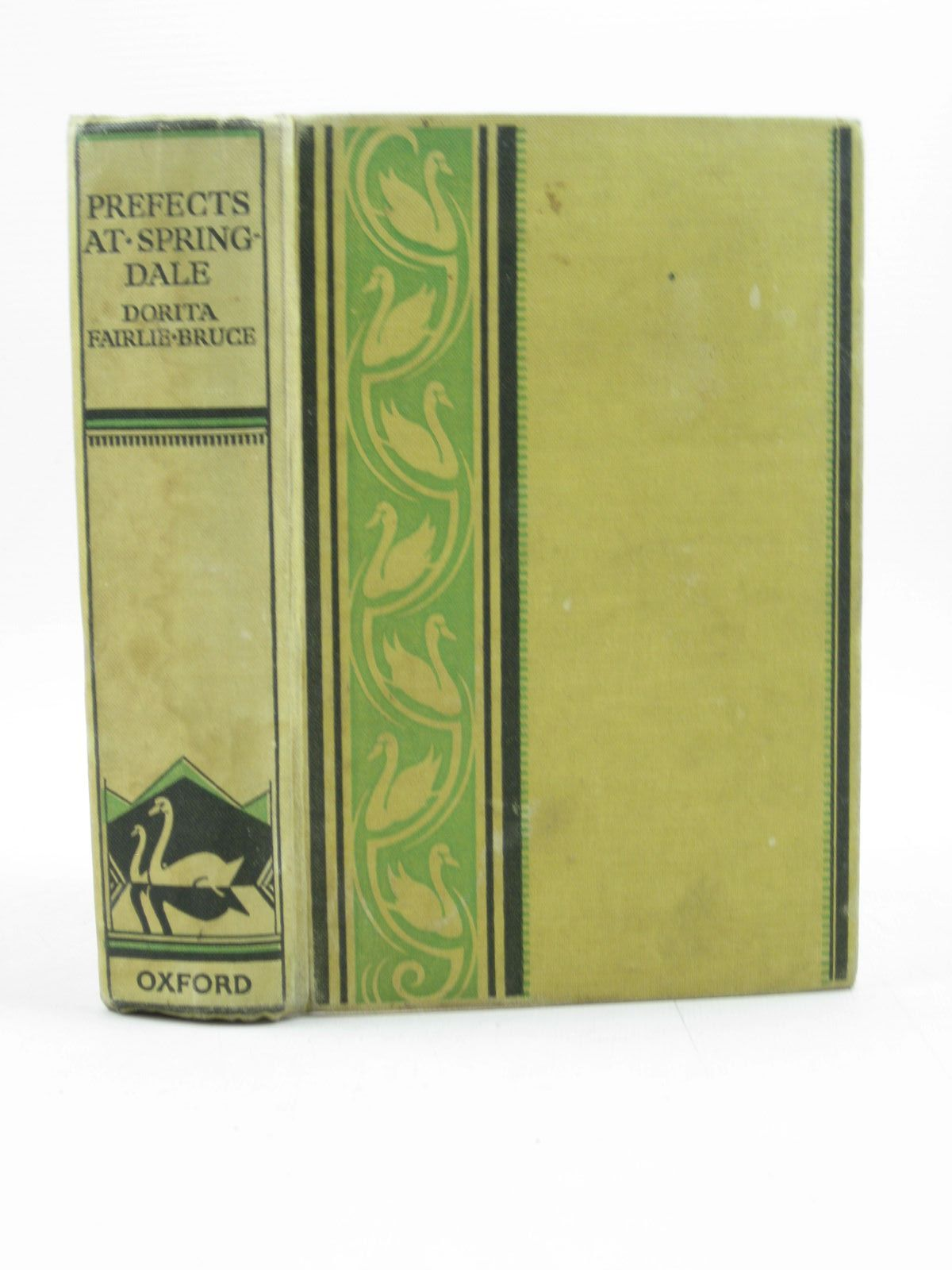 Photo of PREFECTS AT SPRINGDALE written by Bruce, Dorita Fairlie illustrated by Johnston, M.D. published by Oxford University Press, Humphrey Milford (STOCK CODE: 1313835)  for sale by Stella & Rose's Books