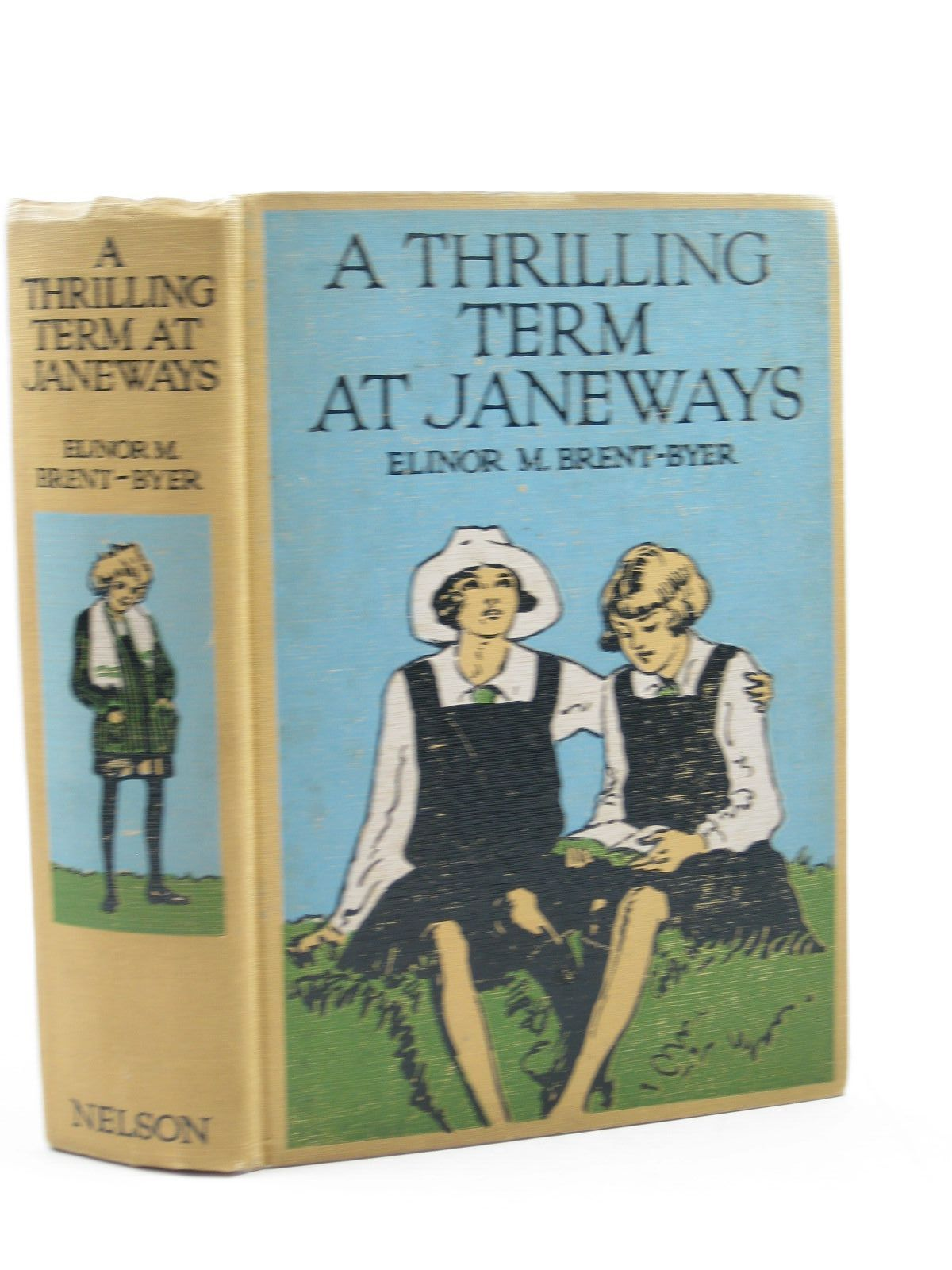 Photo of A THRILLING TERM AT JANEWAYS written by Brent-Dyer, Elinor M. illustrated by Anderson, Florence Mary published by T. Nelson & Sons Ltd. (STOCK CODE: 1314001)  for sale by Stella & Rose's Books