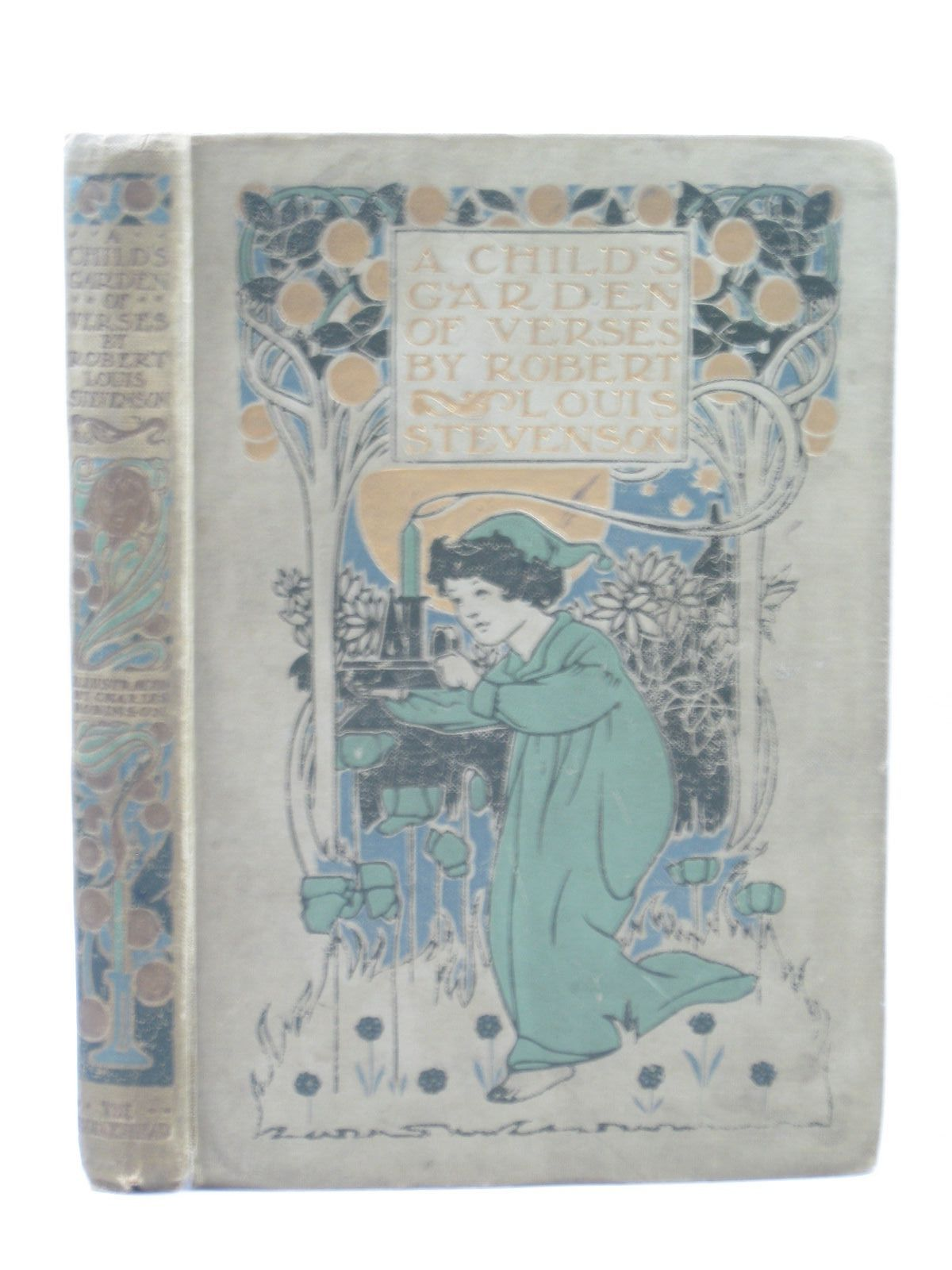 Photo of A CHILD'S GARDEN OF VERSES written by Stevenson, Robert Louis illustrated by Robinson, Charles published by John Lane The Bodley Head (STOCK CODE: 1314089)  for sale by Stella & Rose's Books