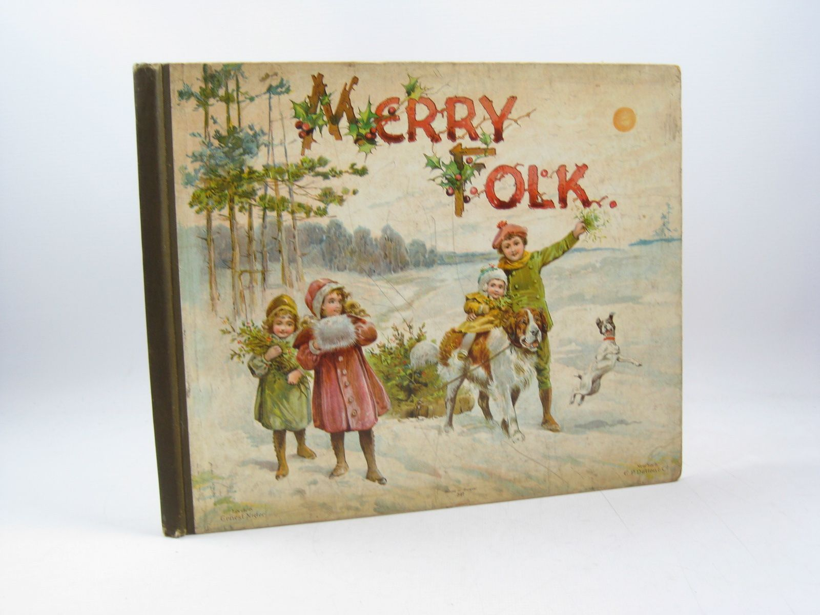 Photo of MERRY FOLK written by Manwell, M.B.<br />Robarts, Edith<br />Hoyer, M.A.<br />et al, illustrated by Hardy, E. Stuart published by Ernest Nister, E.P. Dutton &amp; Co. (STOCK CODE: 1314093)  for sale by Stella & Rose's Books