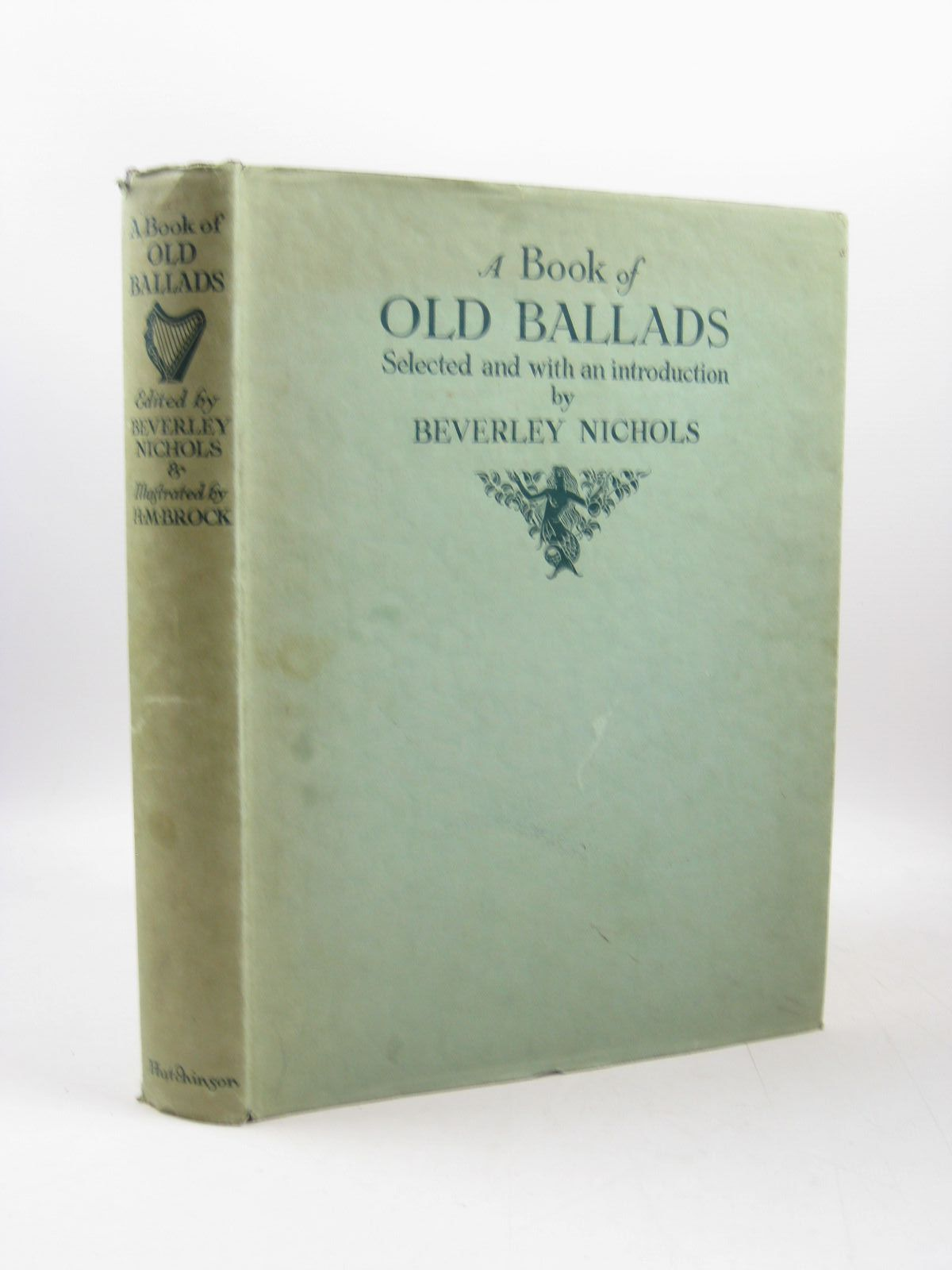 Photo of A BOOK OF OLD BALLADS written by Nichols, Beverley illustrated by Brock, H.M. published by Hutchinson & Co. Ltd (STOCK CODE: 1314096)  for sale by Stella & Rose's Books