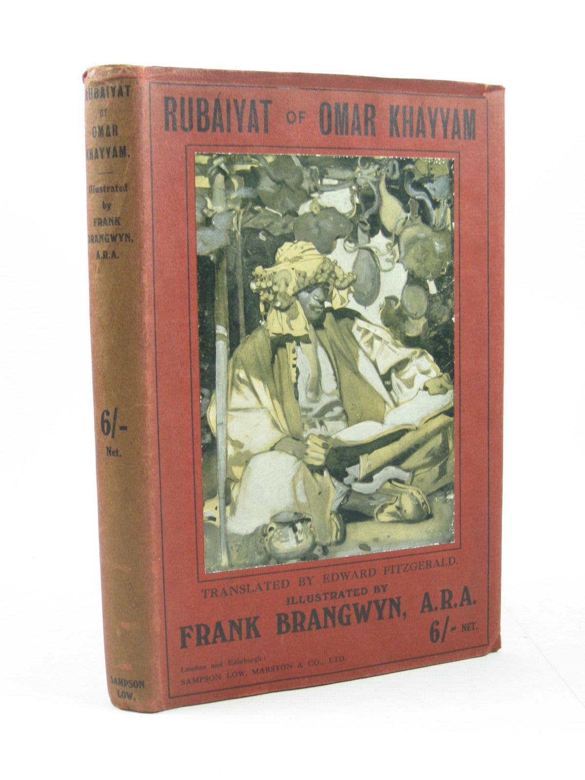 Photo of RUBAIYAT OF OMAR KHAYYAM- Stock Number: 1314099