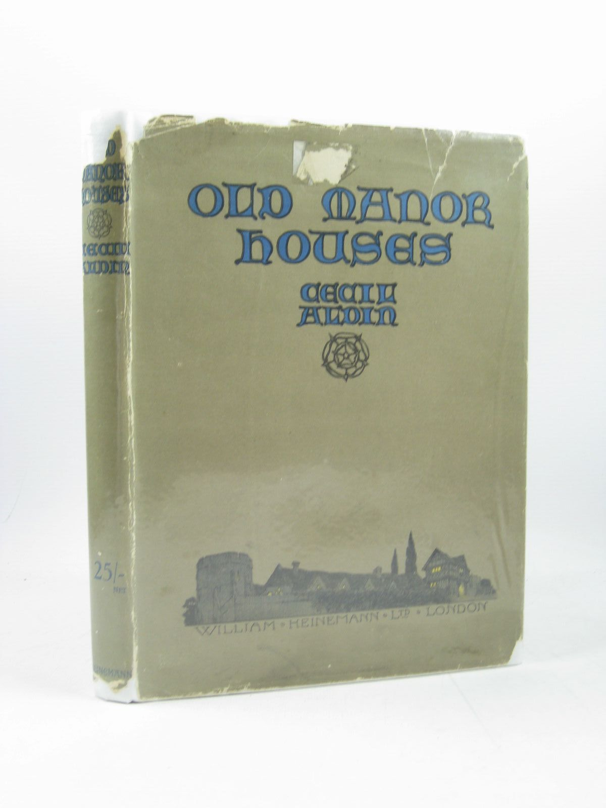 Photo of OLD MANOR HOUSES written by Aldin, Cecil illustrated by Aldin, Cecil published by William Heinemann Ltd. (STOCK CODE: 1314100)  for sale by Stella & Rose's Books