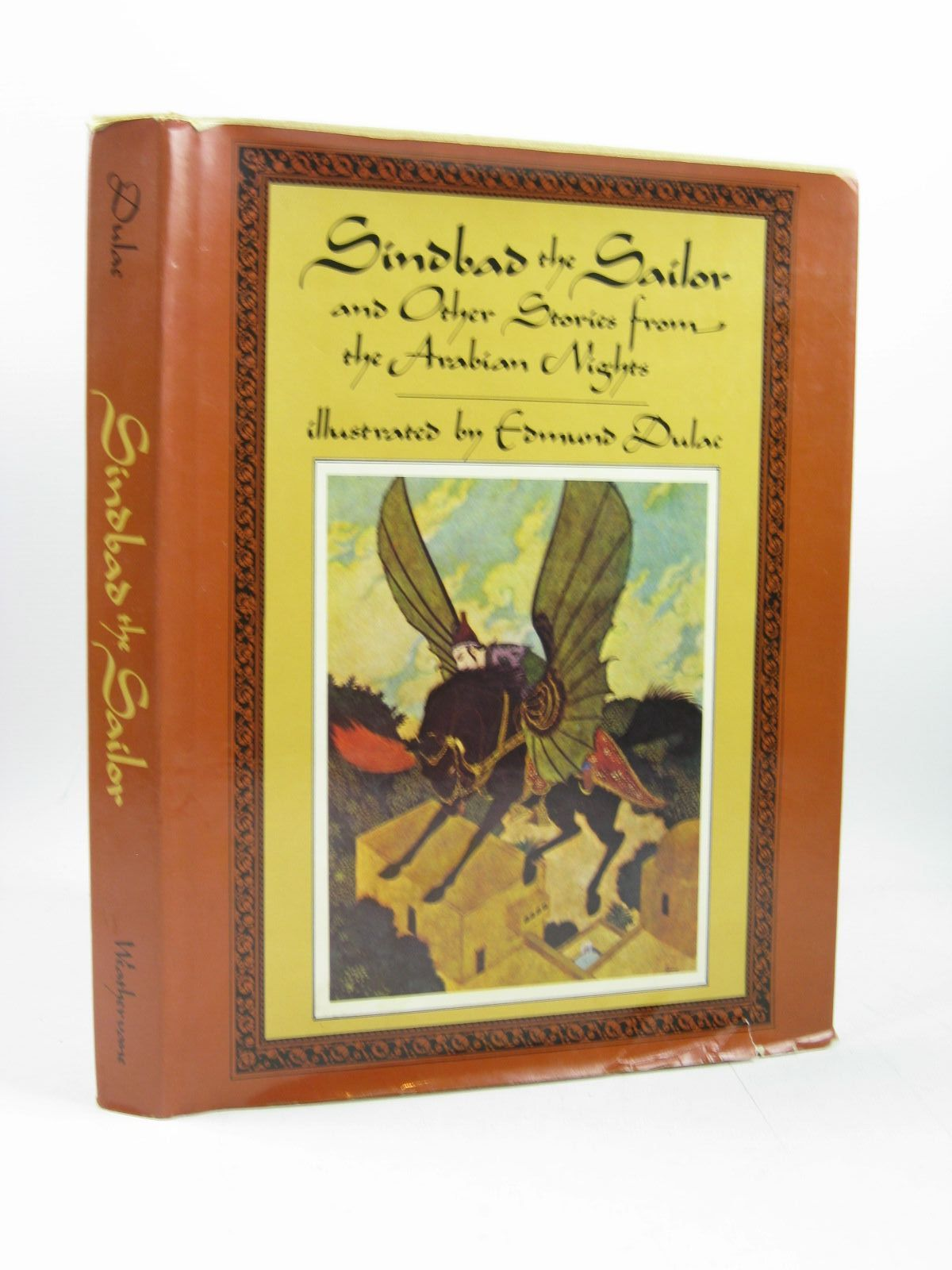 Photo of SINDBAD THE SAILOR AND OTHER STORIES FROM THE ARABIAN illustrated by Dulac, Edmund published by Weathervane Books (STOCK CODE: 1314121)  for sale by Stella & Rose's Books